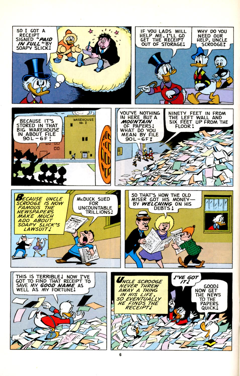 Read online Uncle Scrooge (1953) comic -  Issue #278 - 7