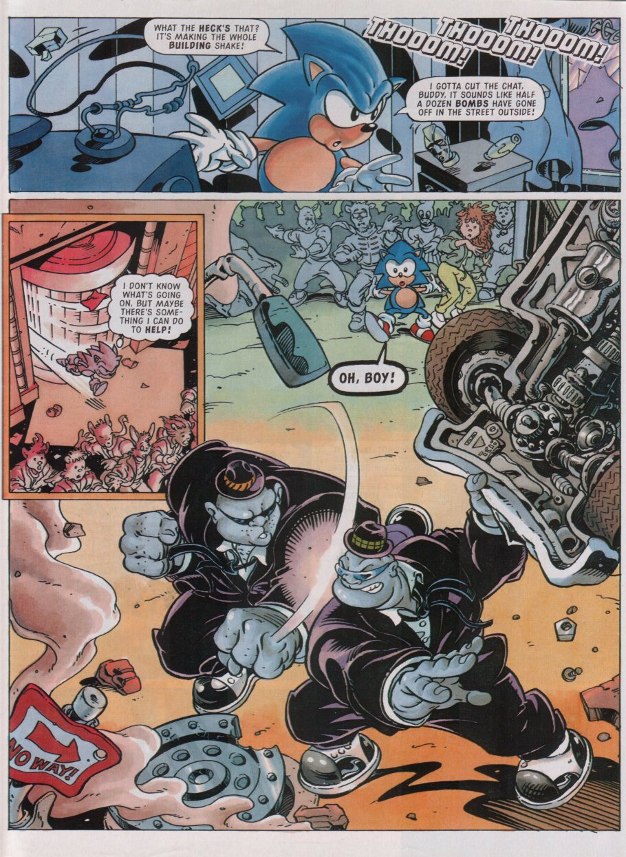 Read online Sonic the Comic comic -  Issue #95 - 4