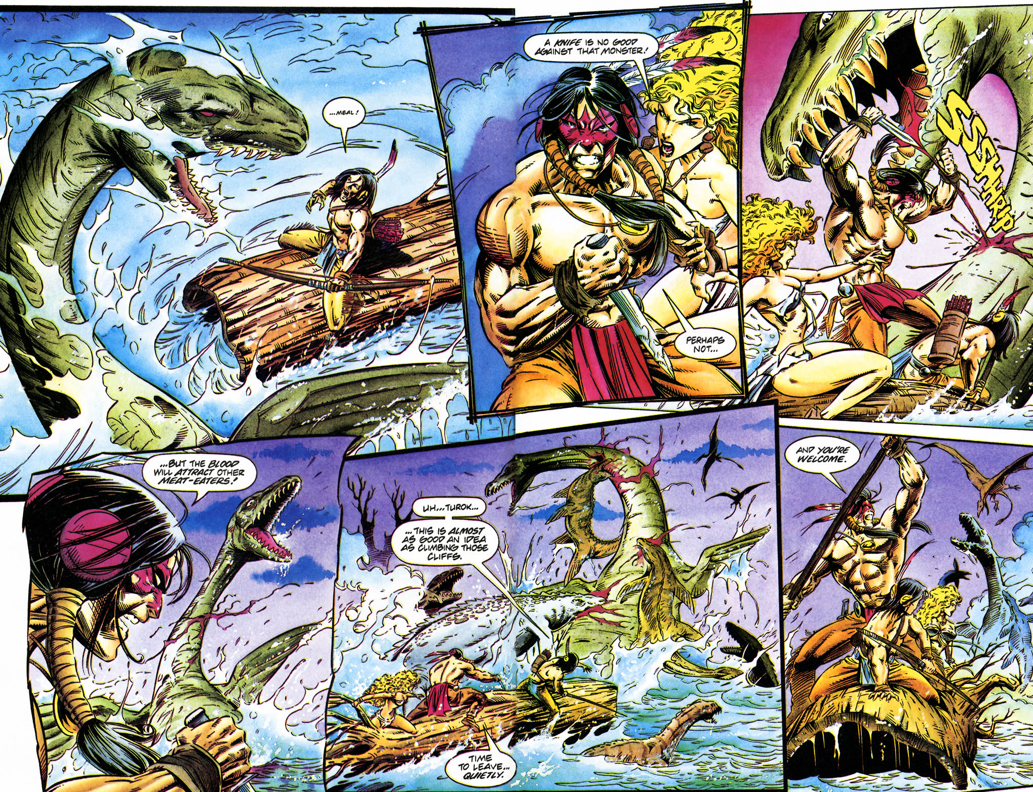 Read online Turok, Dinosaur Hunter (1993) comic -  Issue #35 - 9