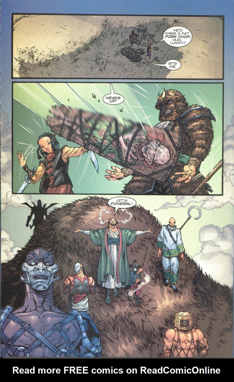 Read online Ninja Boy comic -  Issue #4 - 12