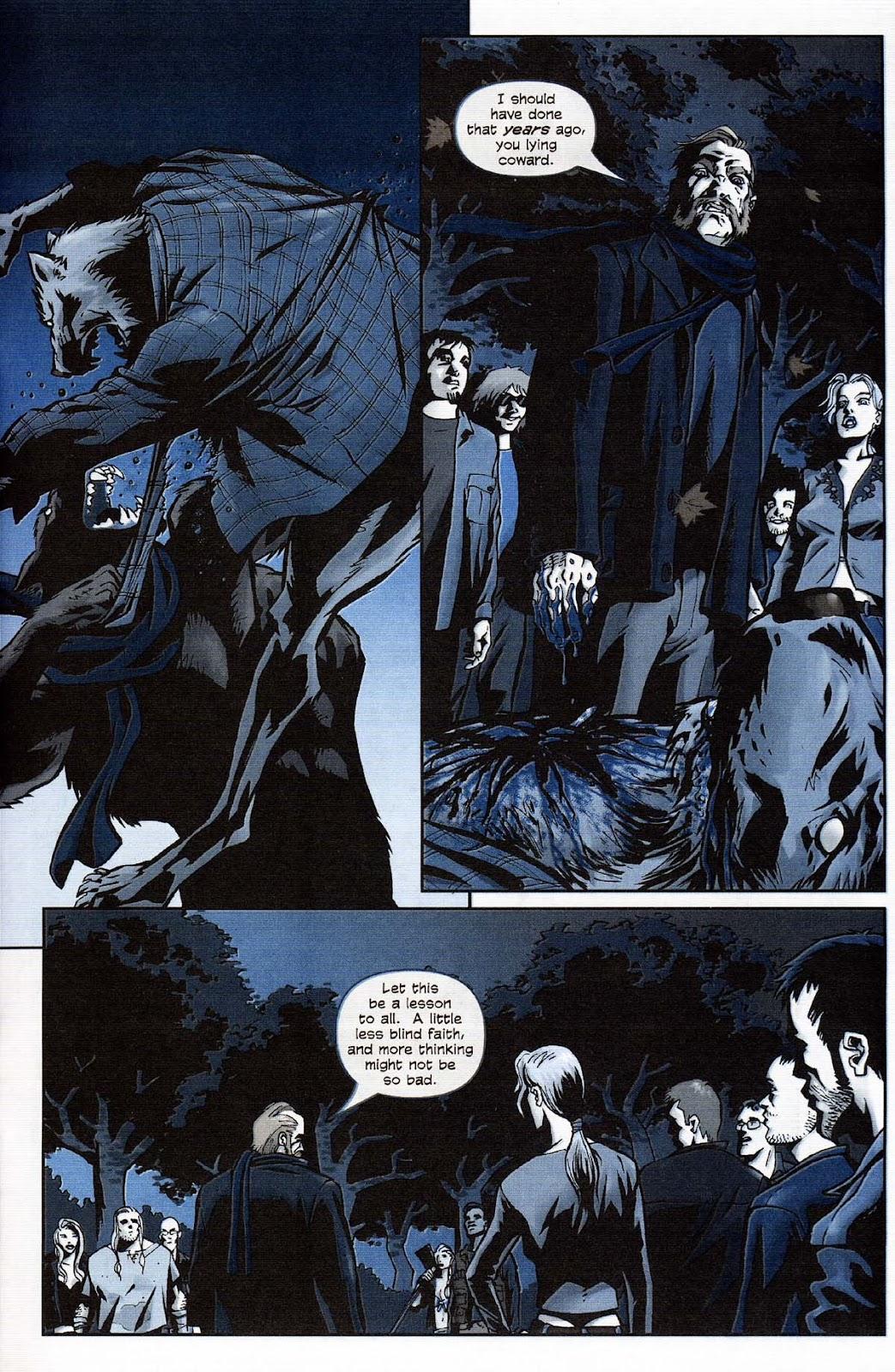 Read online Werewolf the Apocalypse comic -  Issue # Get of Fenris - 49