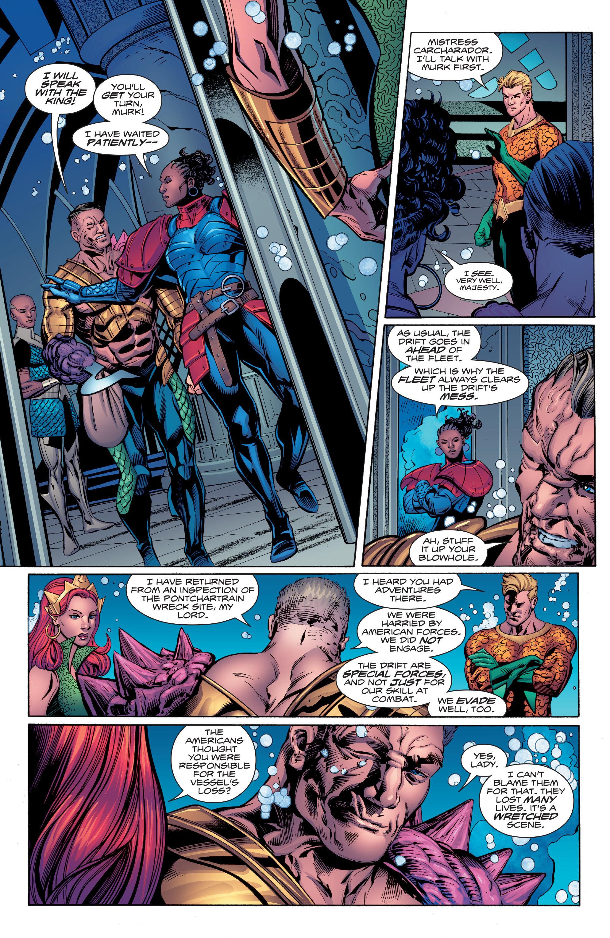 Read online Aquaman (2016) comic -  Issue #7 - 7