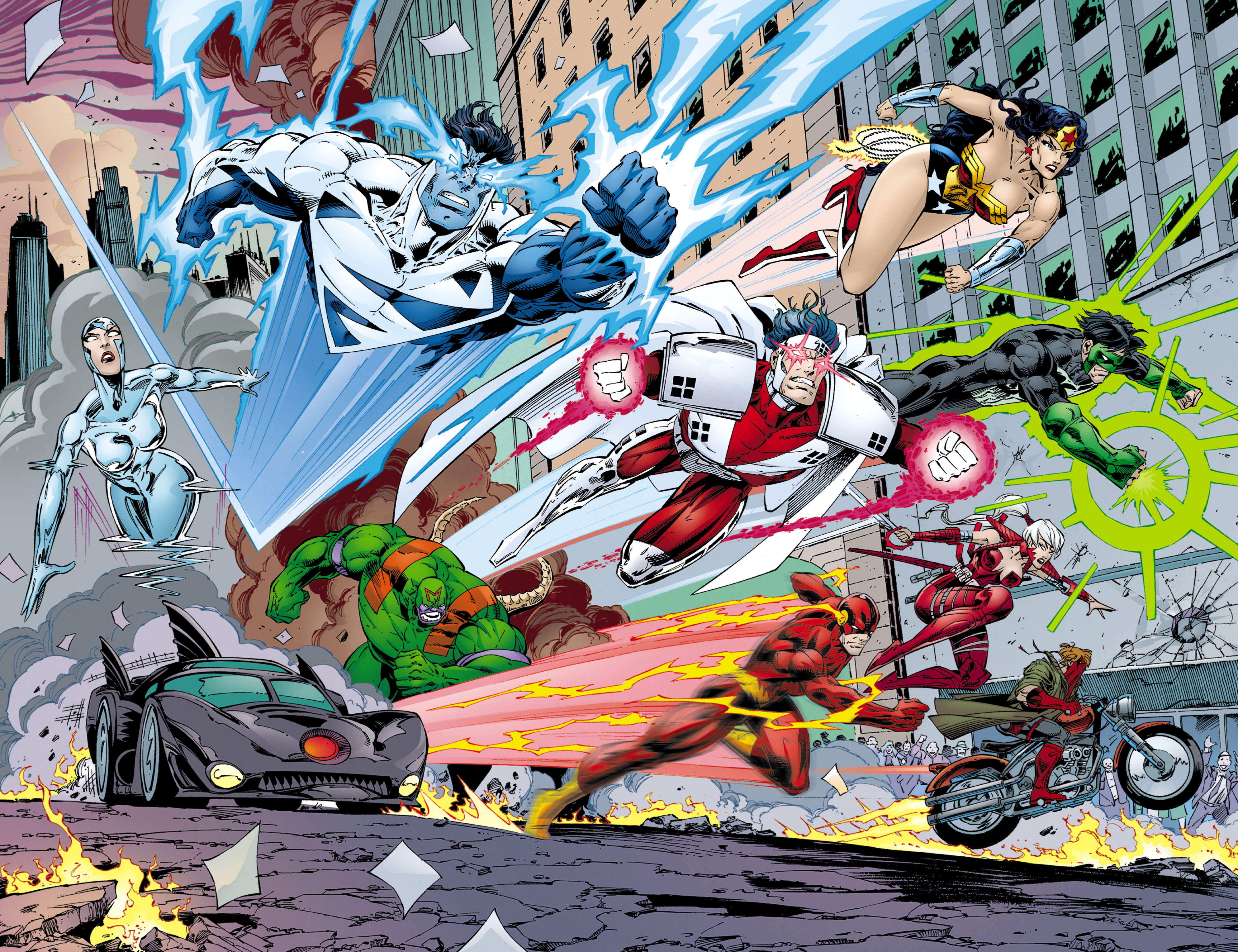 Read online JLA/WildC.A.T.s comic -  Issue # Full - 47