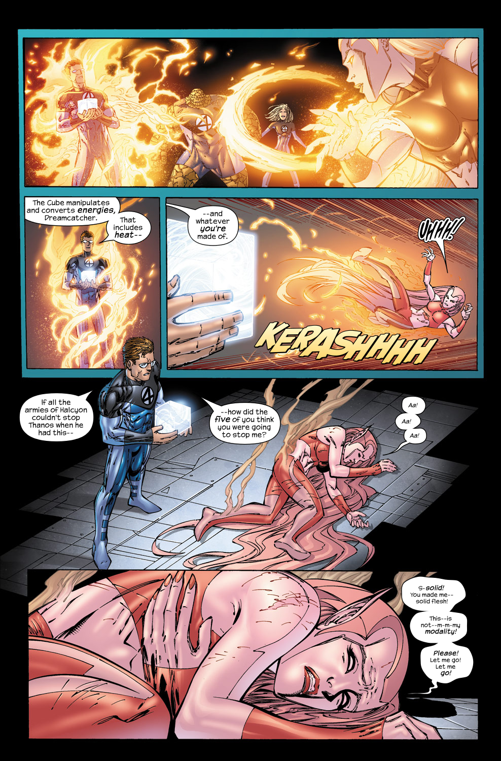 Read online Ultimate Fantastic Four (2004) comic -  Issue #50 - 12