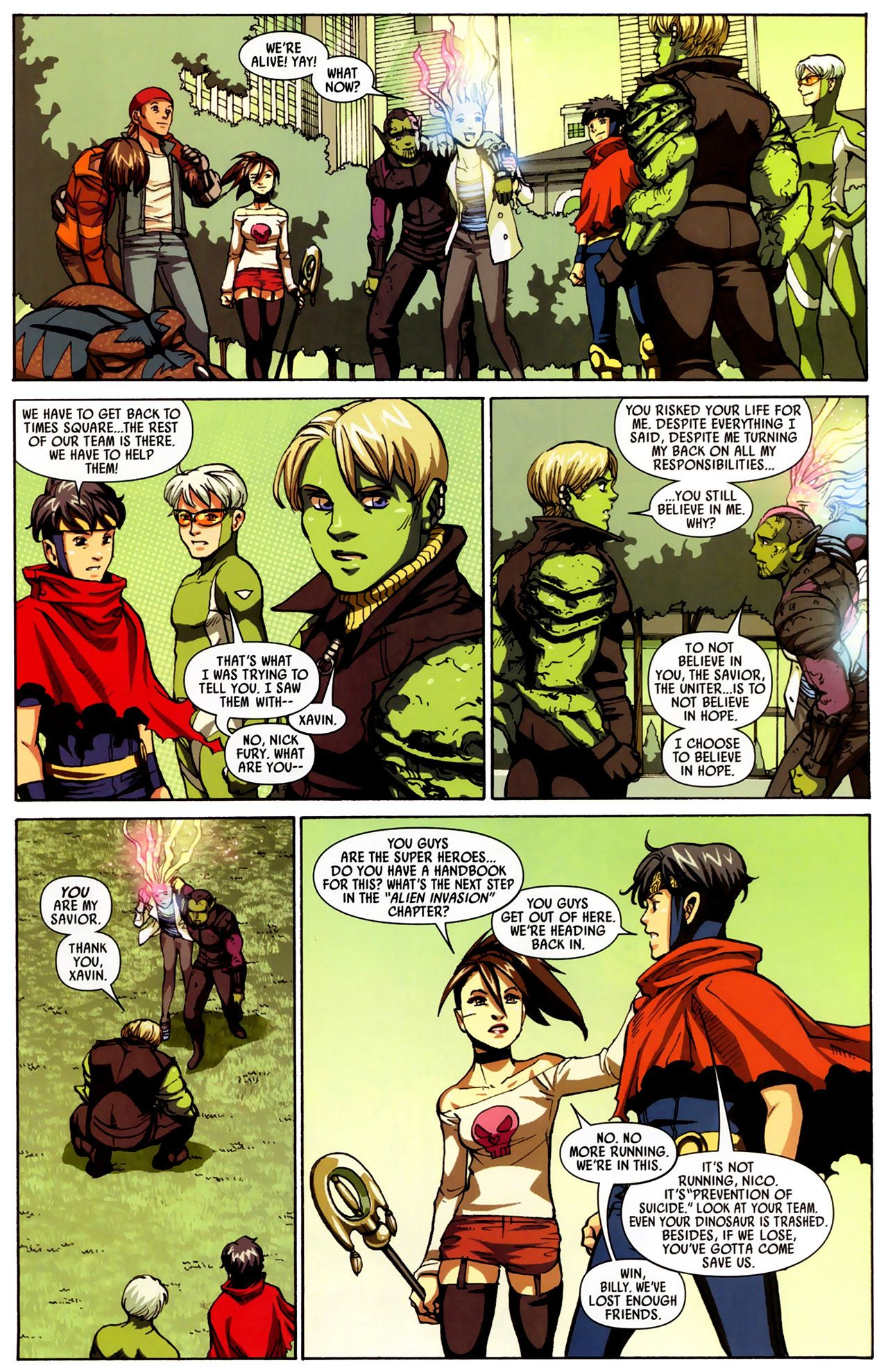 Read online Secret Invasion: Runaways/Young Avengers comic -  Issue #3 - 24