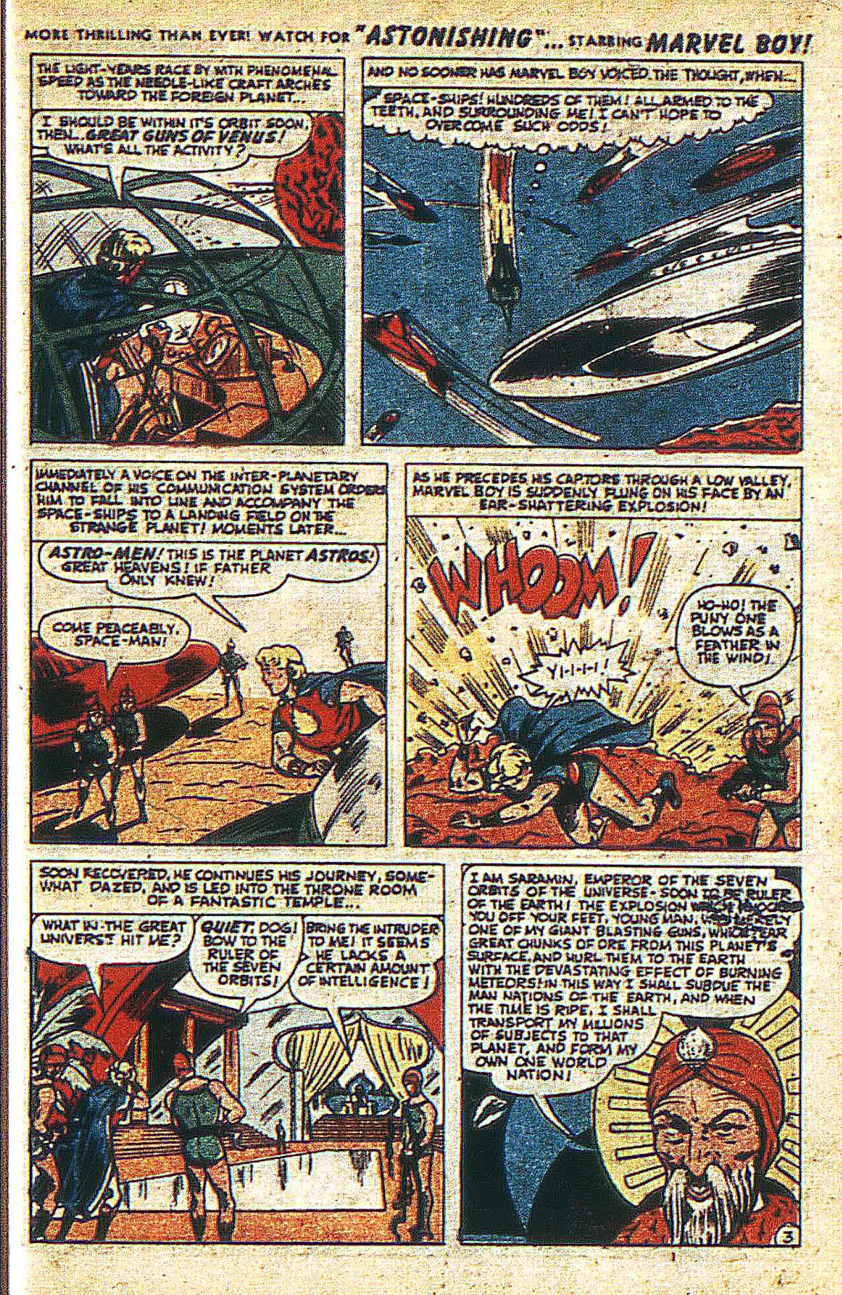 Read online Marvel Boy (1950) comic -  Issue #2 - 6