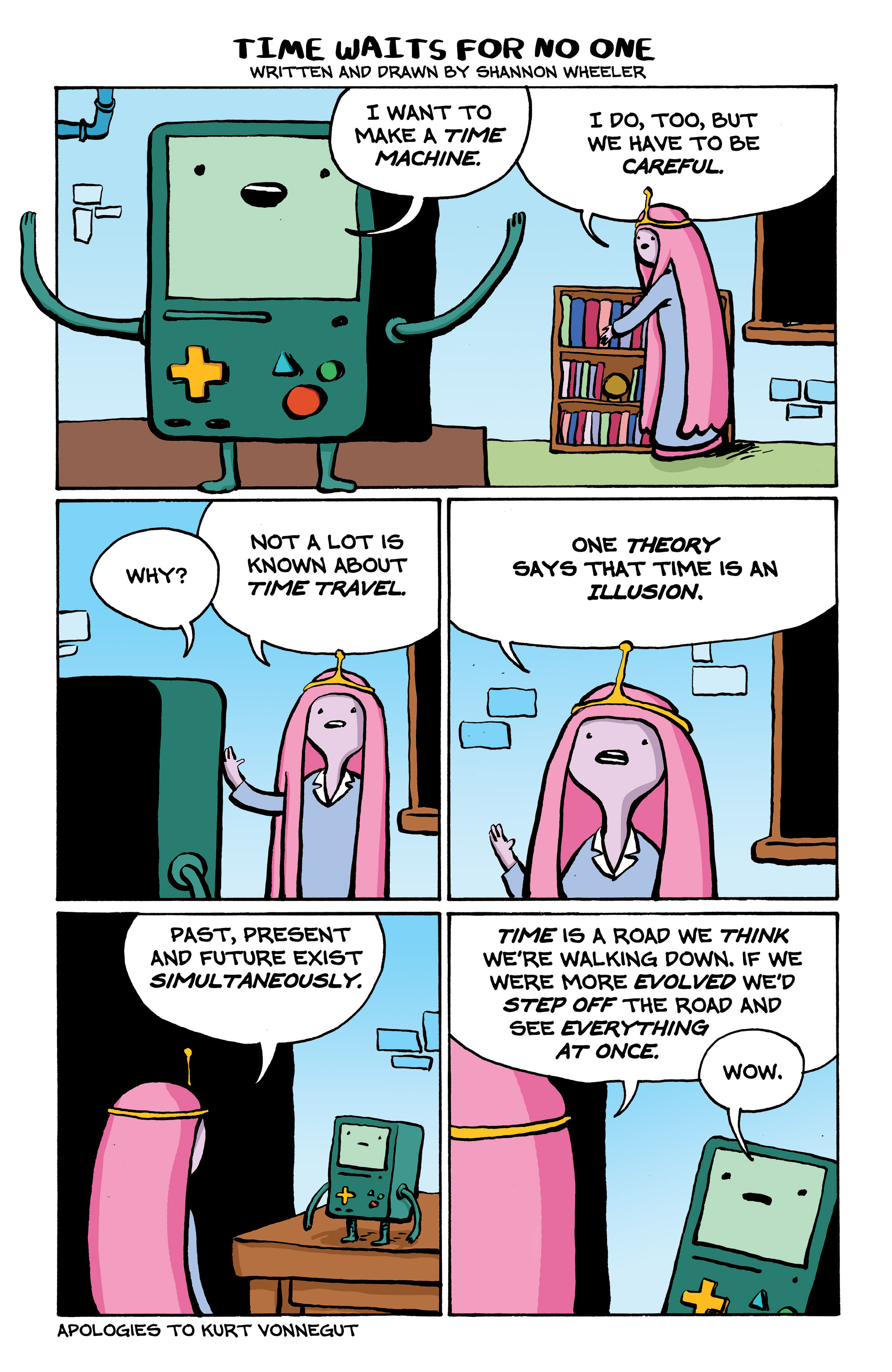 Read online Adventure Time comic -  Issue #7 - 22