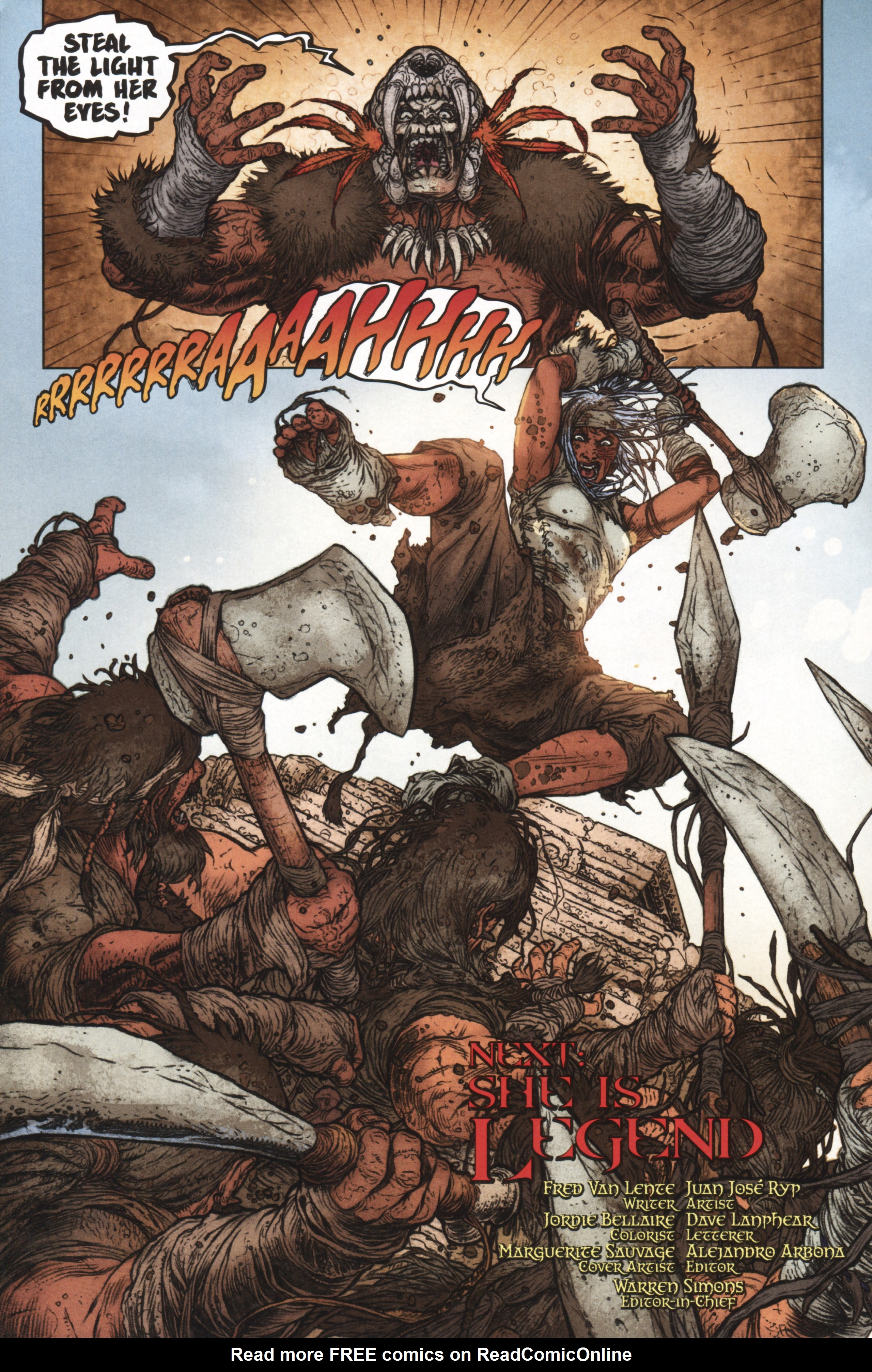 Read online Book of Death: Legends of the Geomancer comic -  Issue #1 - 20