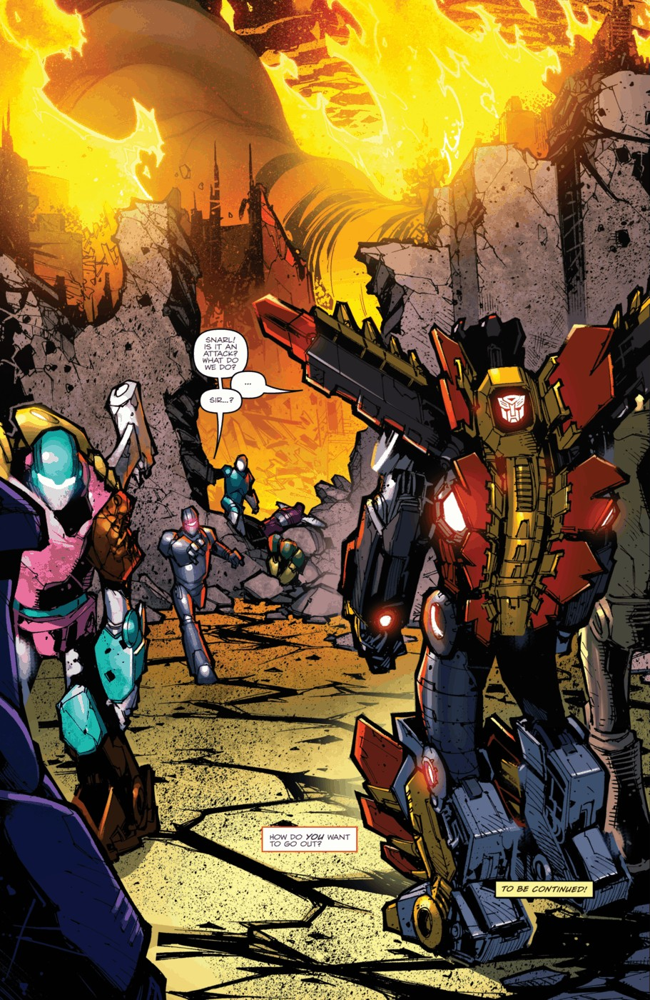 Read online Transformers Prime: Beast Hunters comic -  Issue #5 - 24