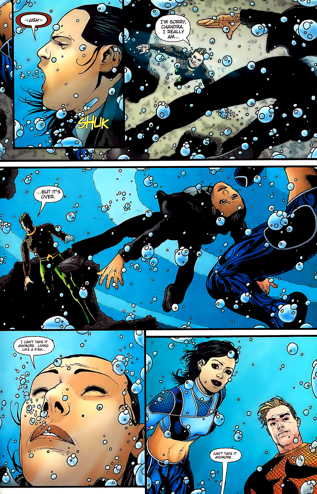Read online Aquaman (2003) comic -  Issue #31 - 21