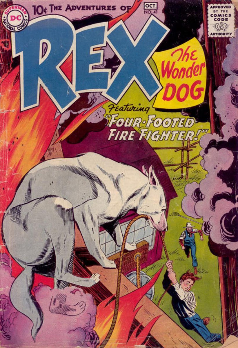 The Adventures of Rex the Wonder Dog issue 41 - Page 1