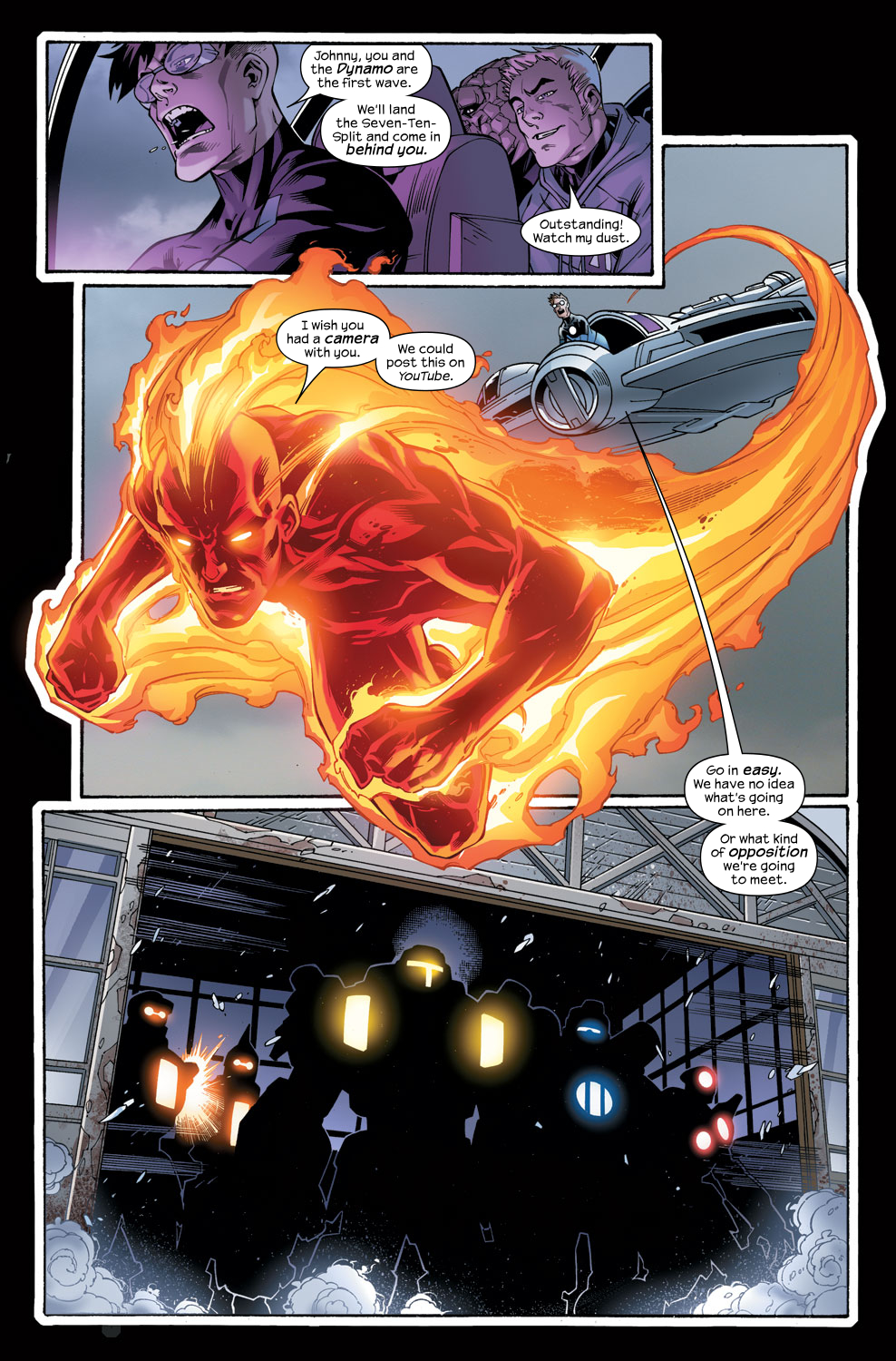 Read online Ultimate Fantastic Four (2004) comic -  Issue #48 - 19