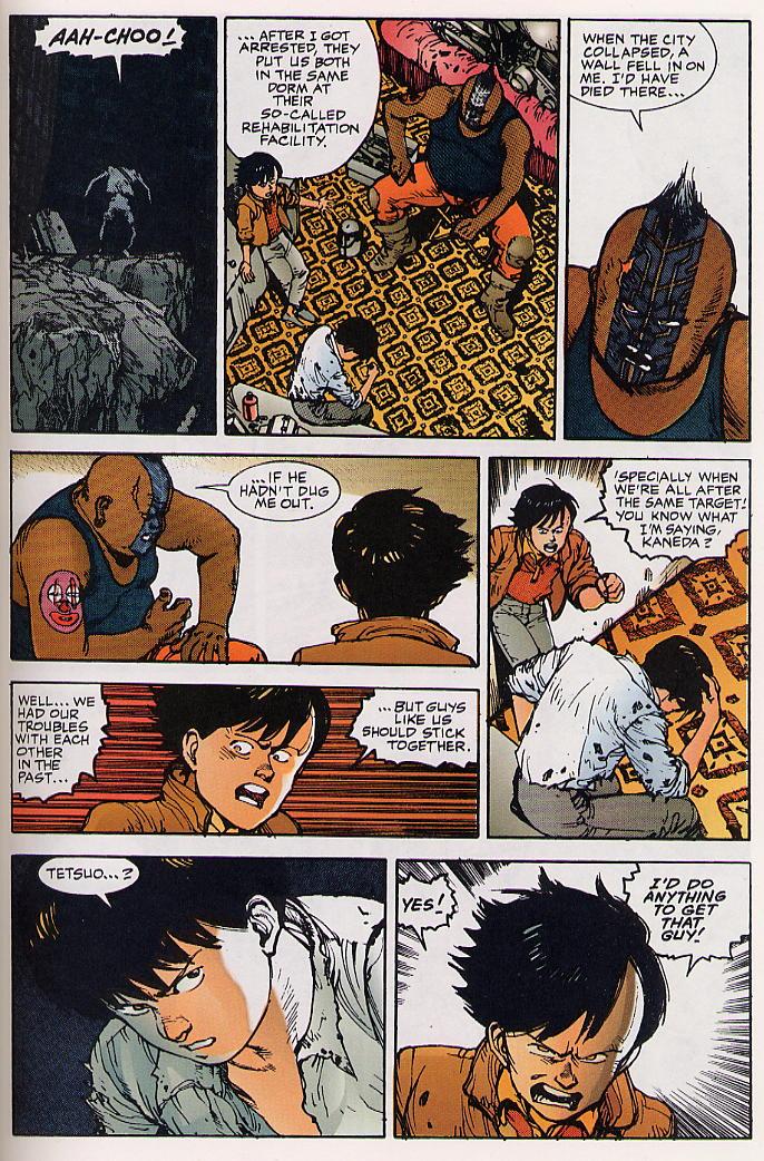 Read online Akira comic -  Issue #24 - 51