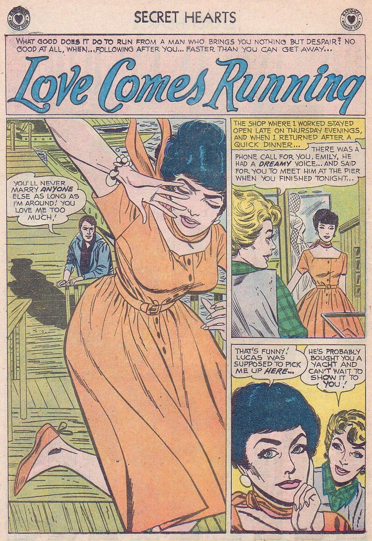 Read online Secret Hearts comic -  Issue #61 - 10