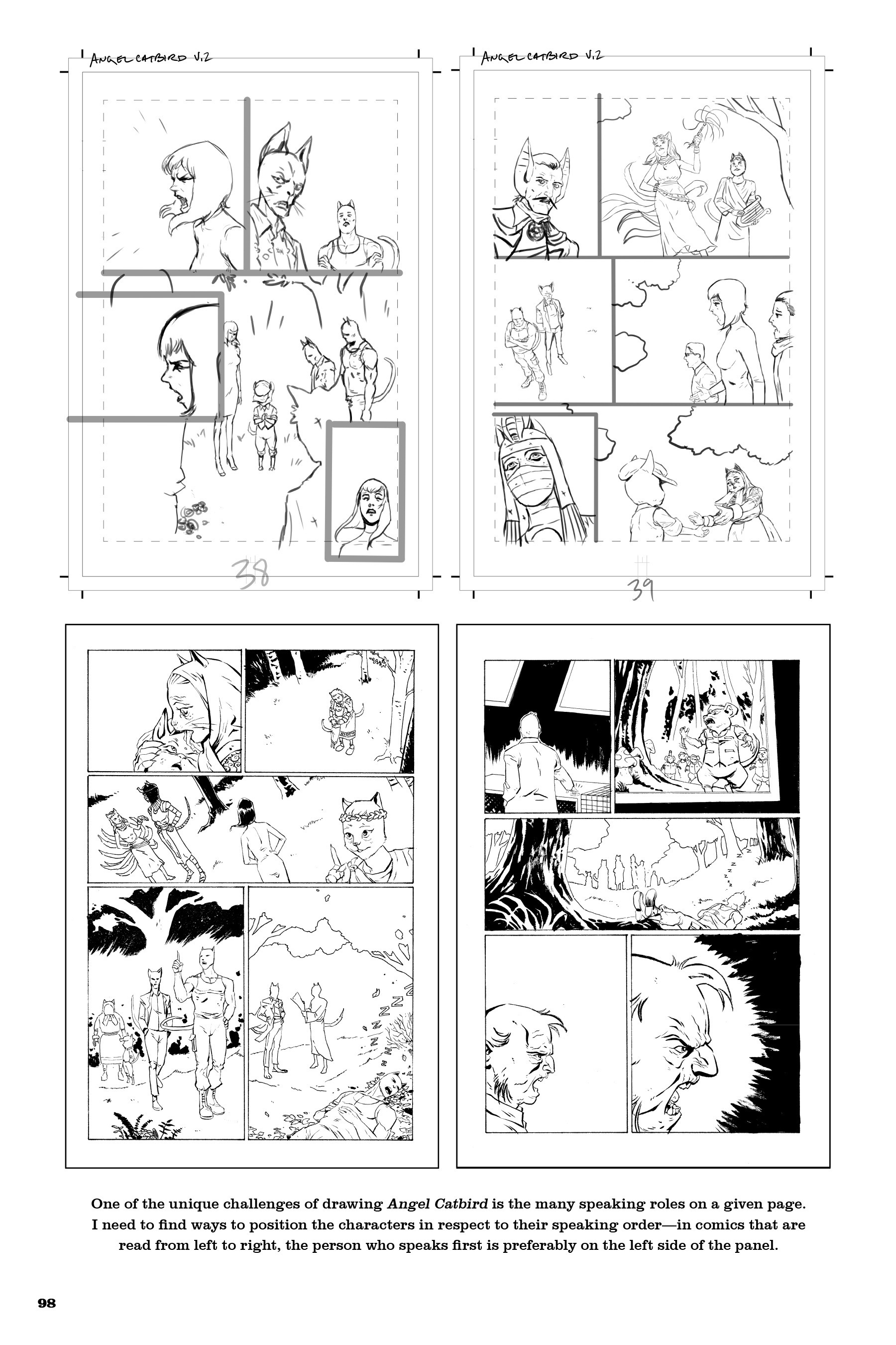 Read online Angel Catbird comic -  Issue # TPB 2 - 99
