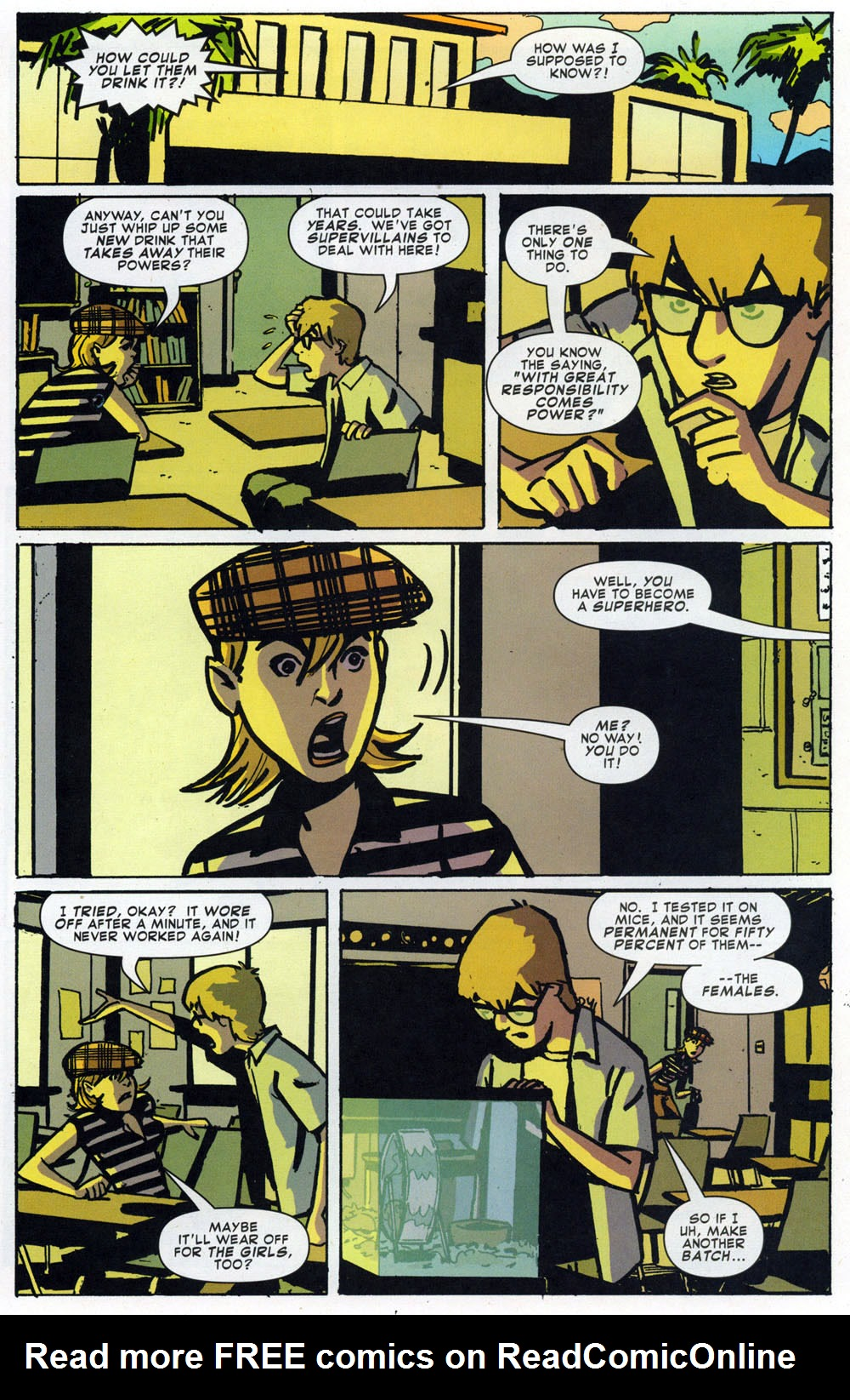 Read online Bad Girls comic -  Issue #1 - 21