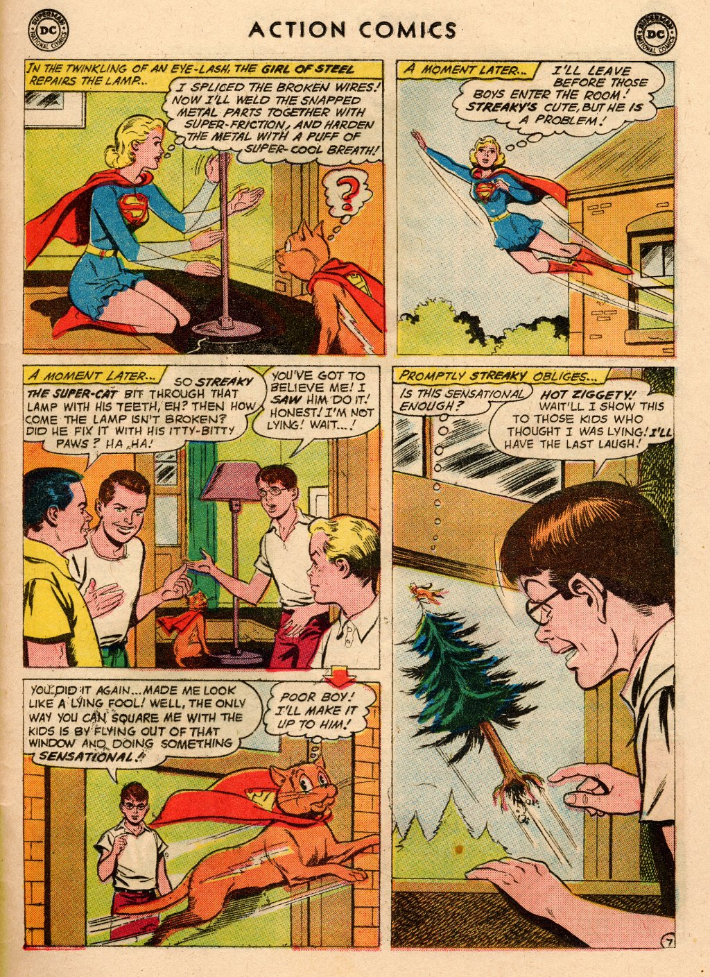 Read online Action Comics (1938) comic -  Issue #266 - 25