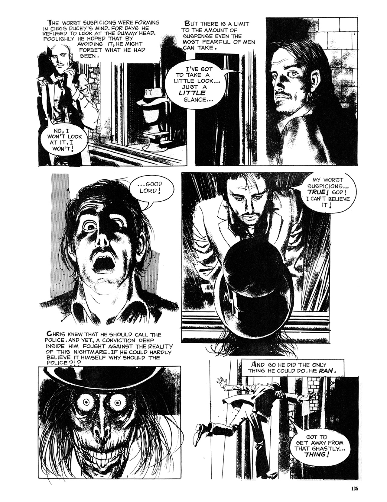 Read online Eerie Archives comic -  Issue # TPB 8 - 136