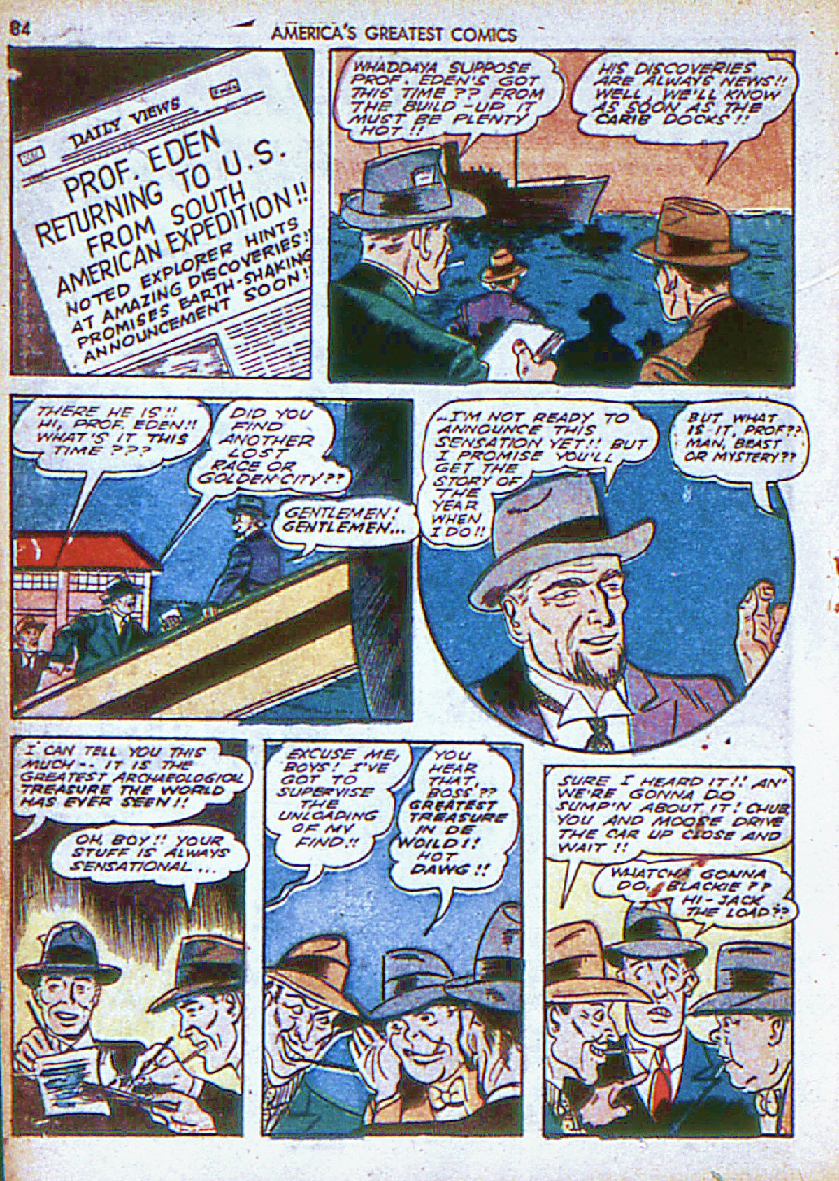 Read online America's Greatest Comics comic -  Issue #6 - 85