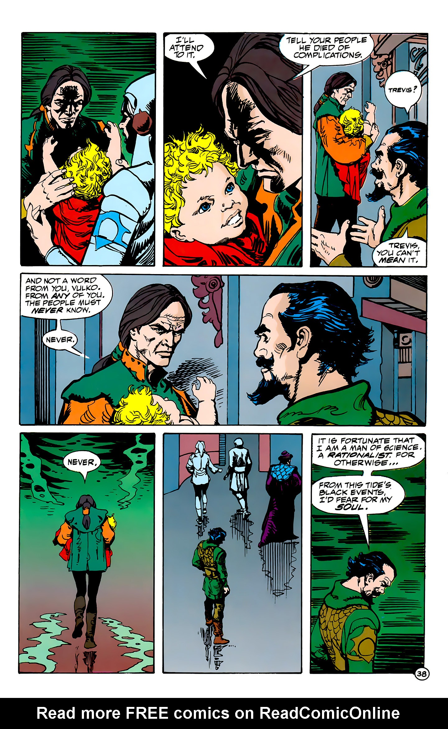 Read online Atlantis Chronicles comic -  Issue #7 - 39
