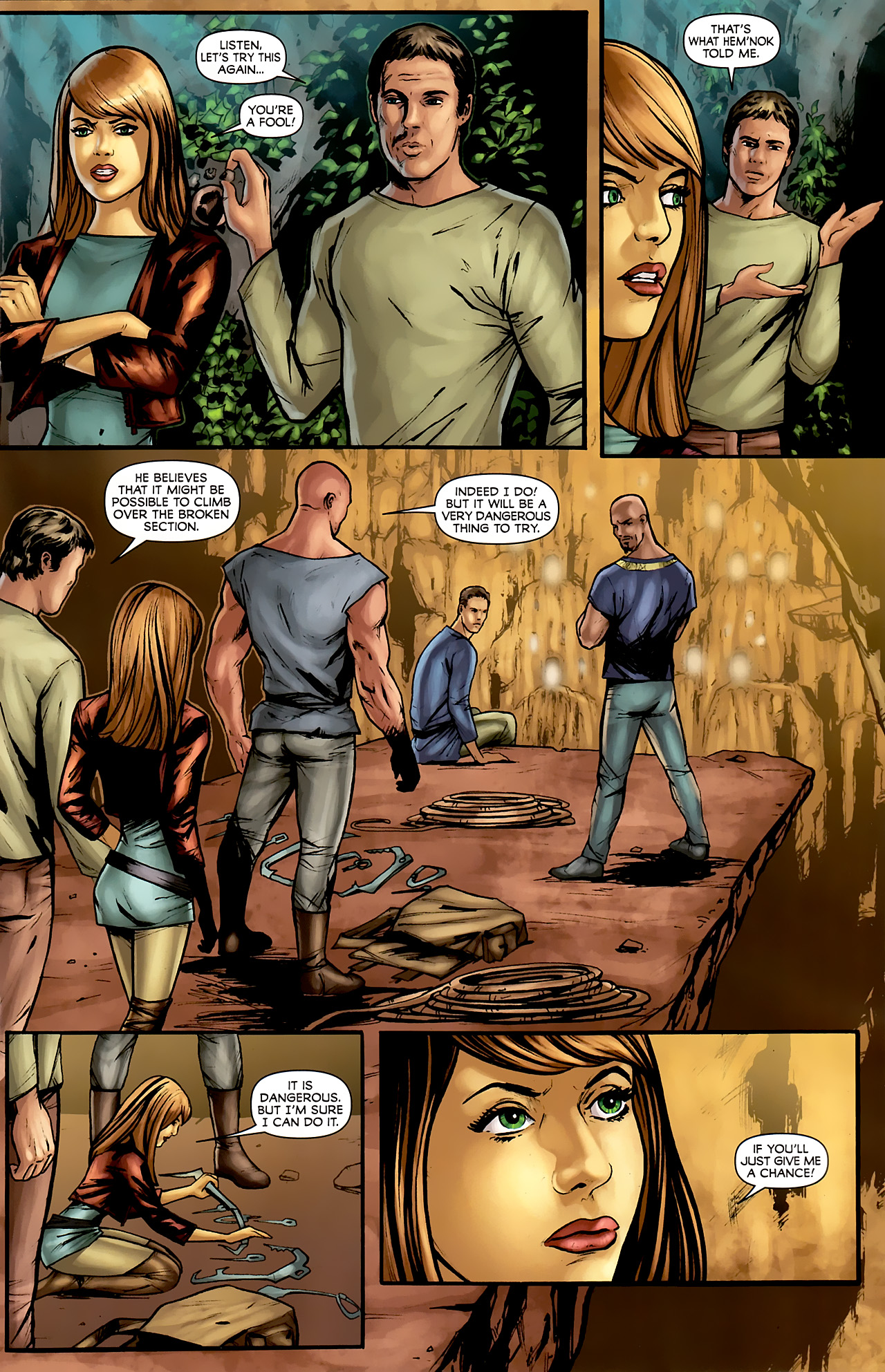 Read online Stargate: Daniel Jackson comic -  Issue #3 - 13
