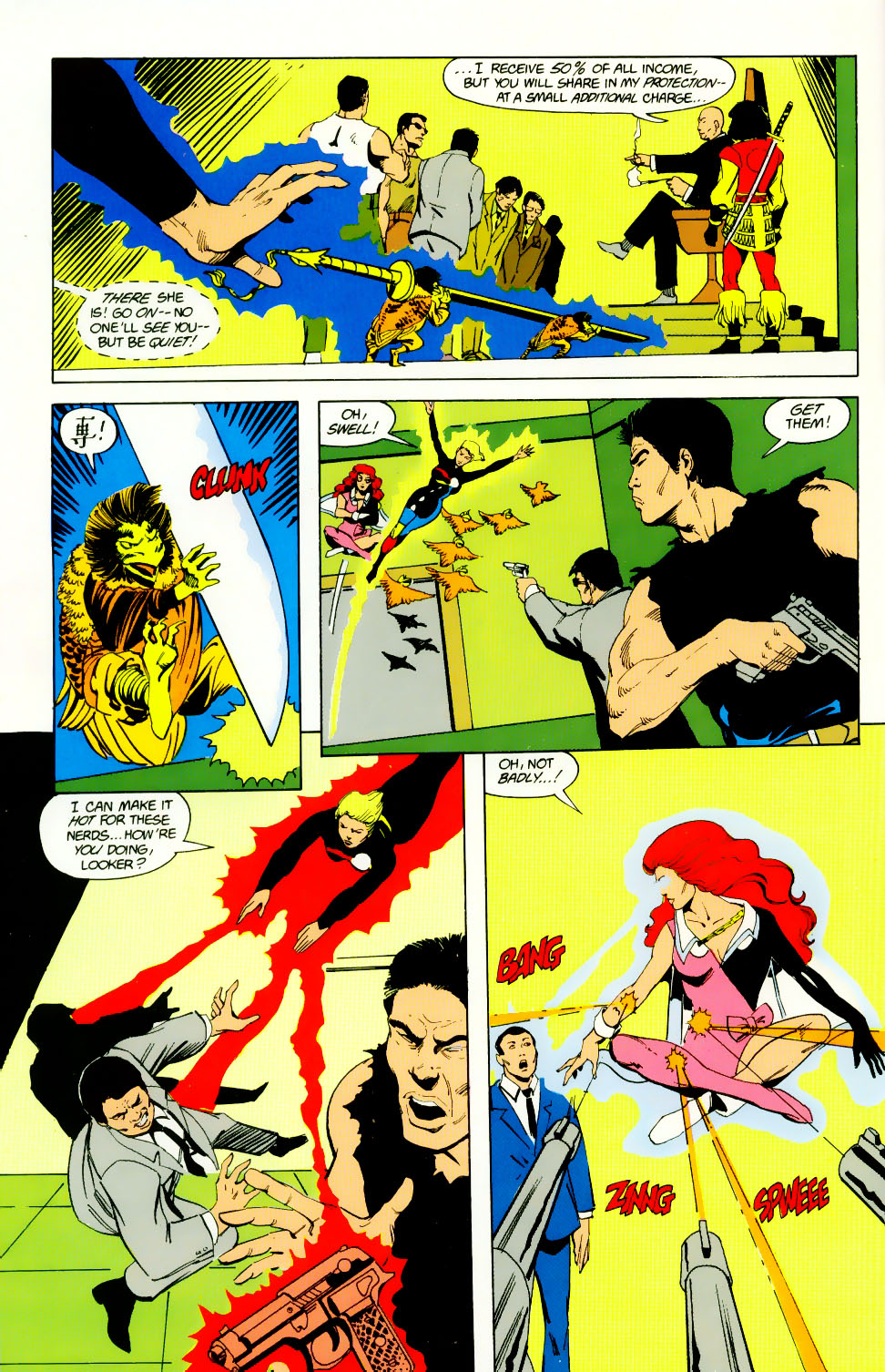 Read online Adventures of the Outsiders comic -  Issue #46 - 25