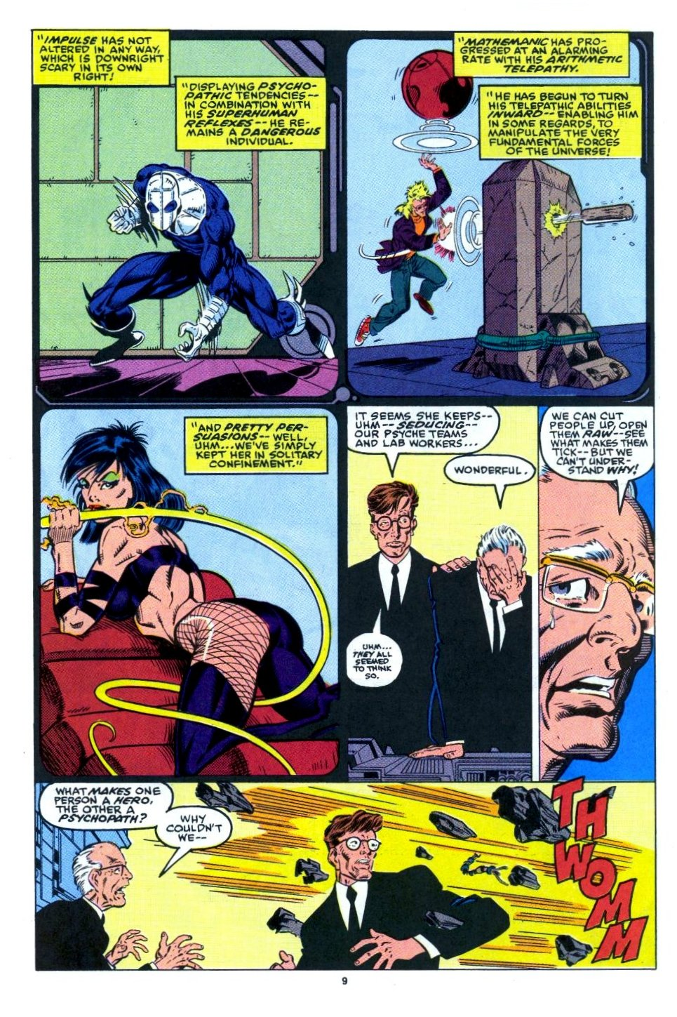 The New Warriors Issue #15 #19 - English 8