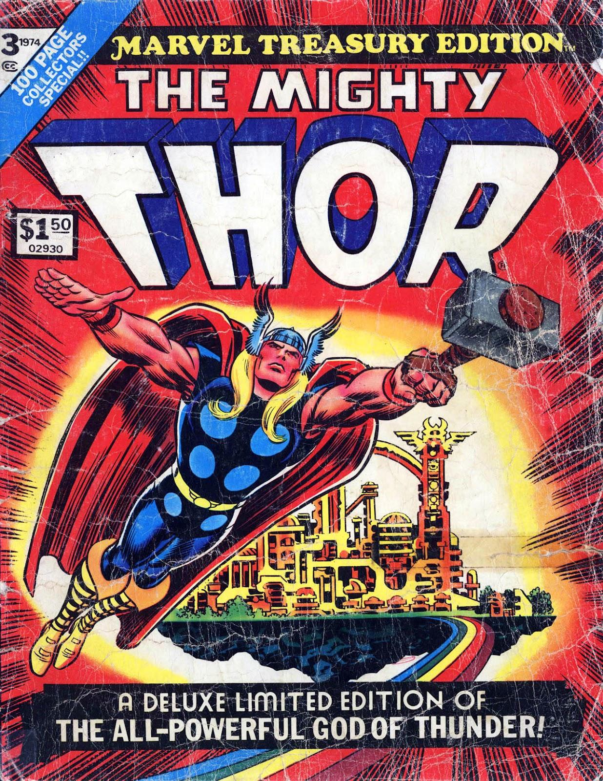 Marvel Treasury Edition 3 Page 1