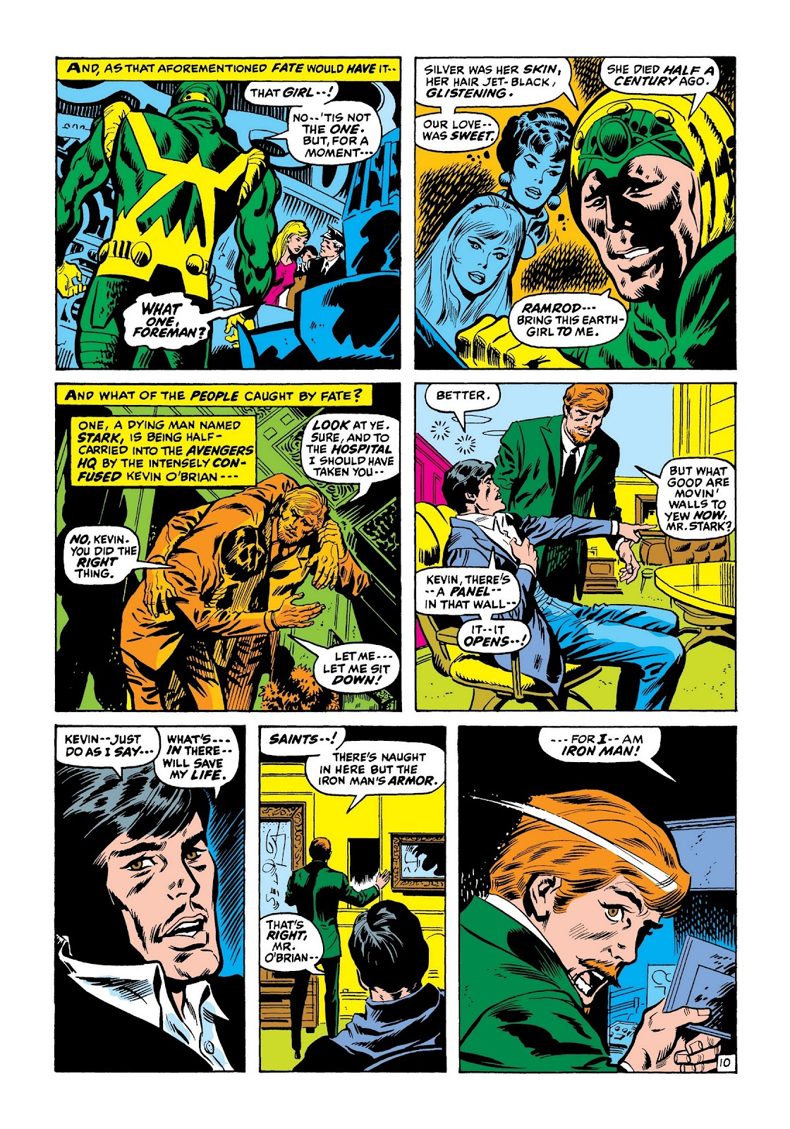 Read online Marvel Masterworks: The Invincible Iron Man comic -  Issue # TPB 7 (Part 3) - 59