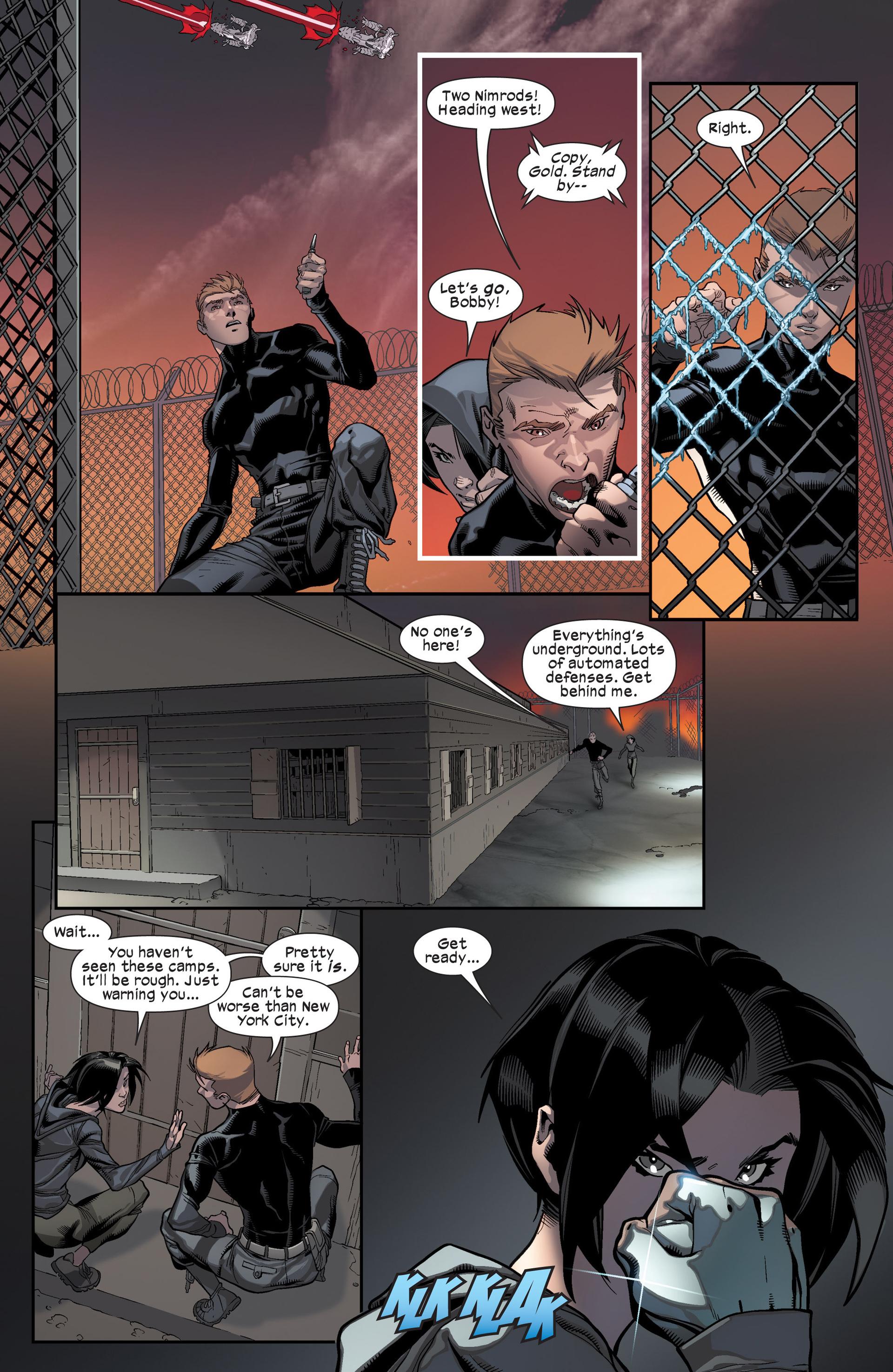 Read online Ultimate Comics X-Men comic -  Issue #17 - 14