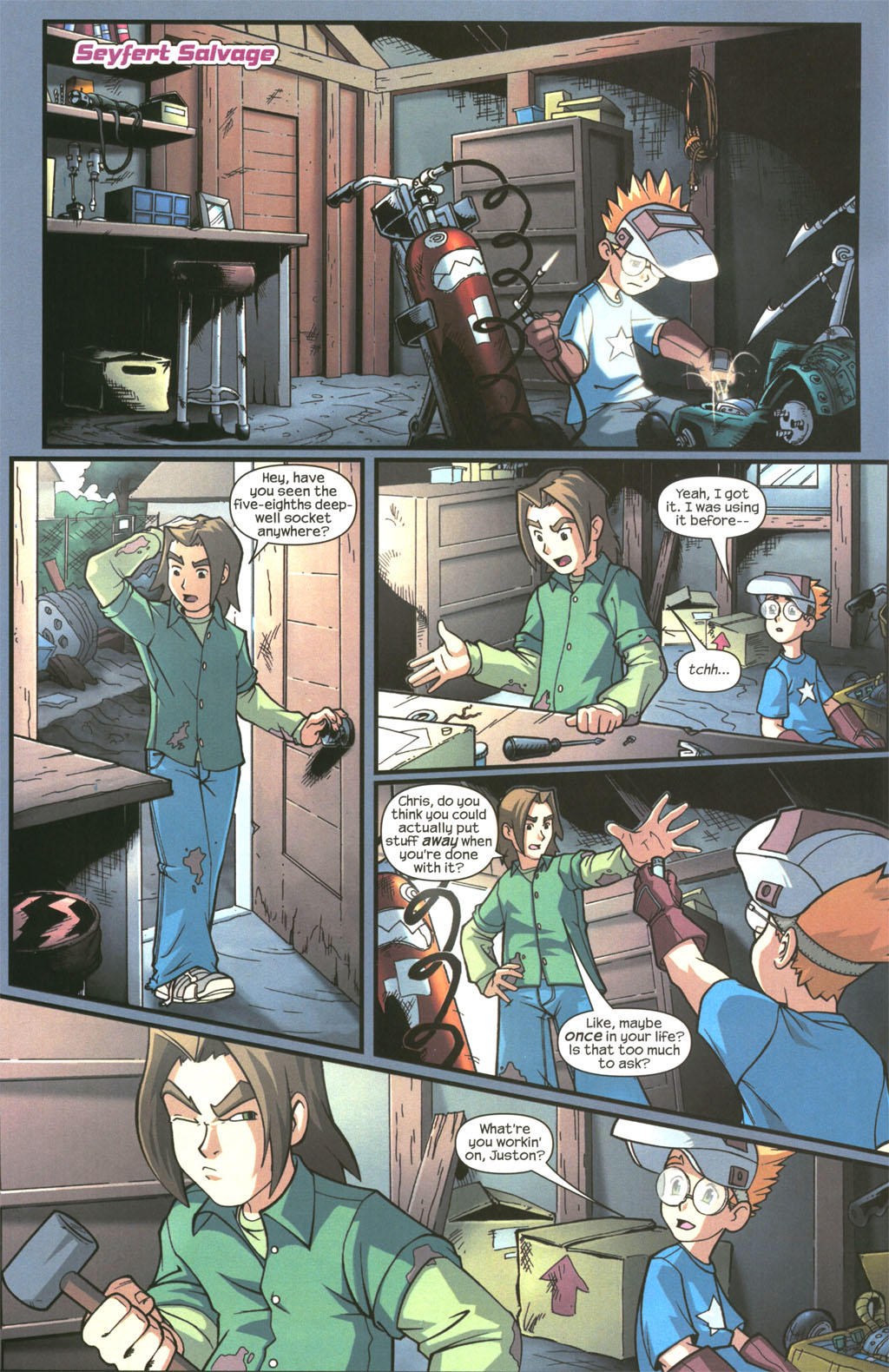 Read online Sentinel comic -  Issue #3 - 3
