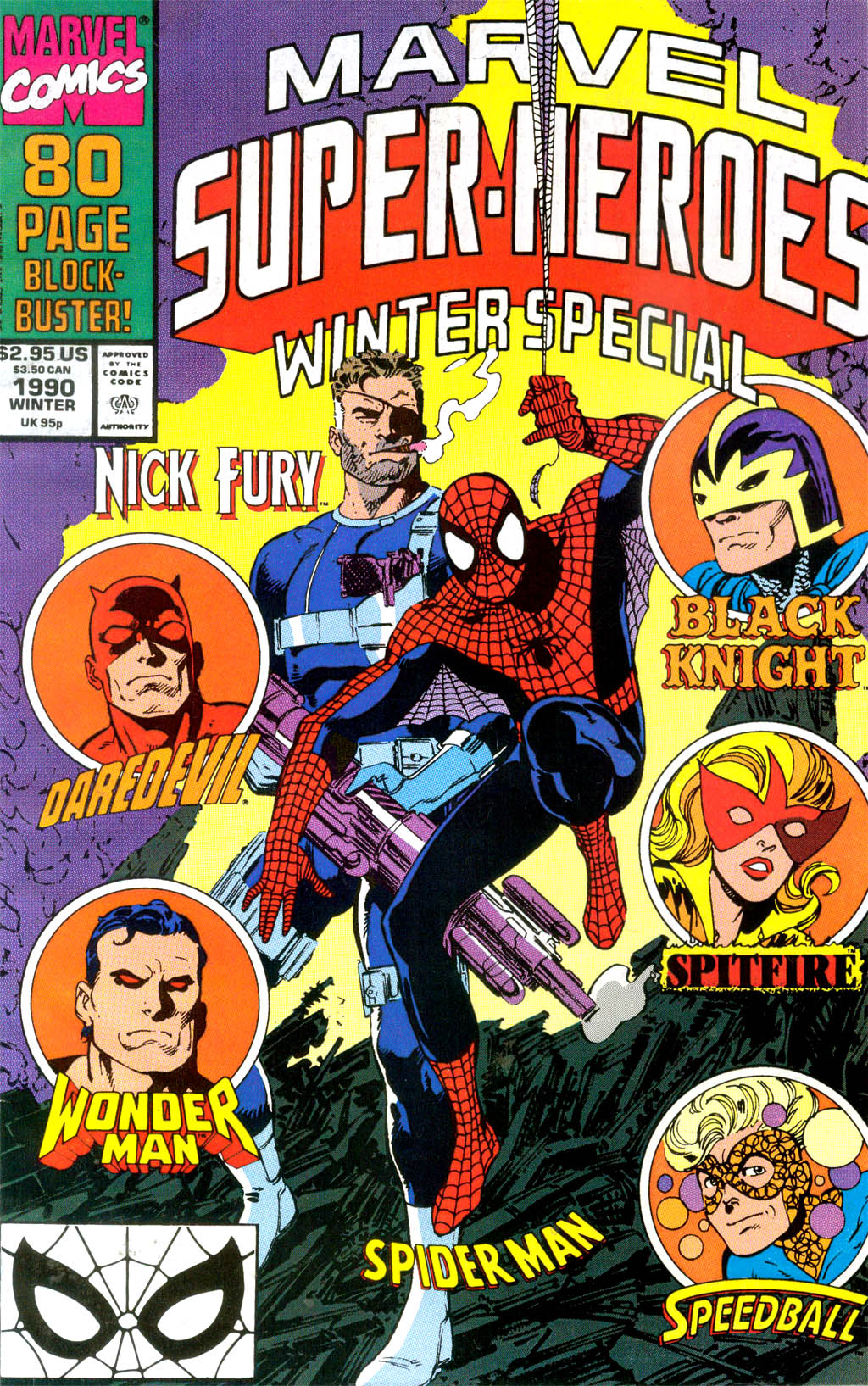 Marvel Super-Heroes (1990) 4 Page 1