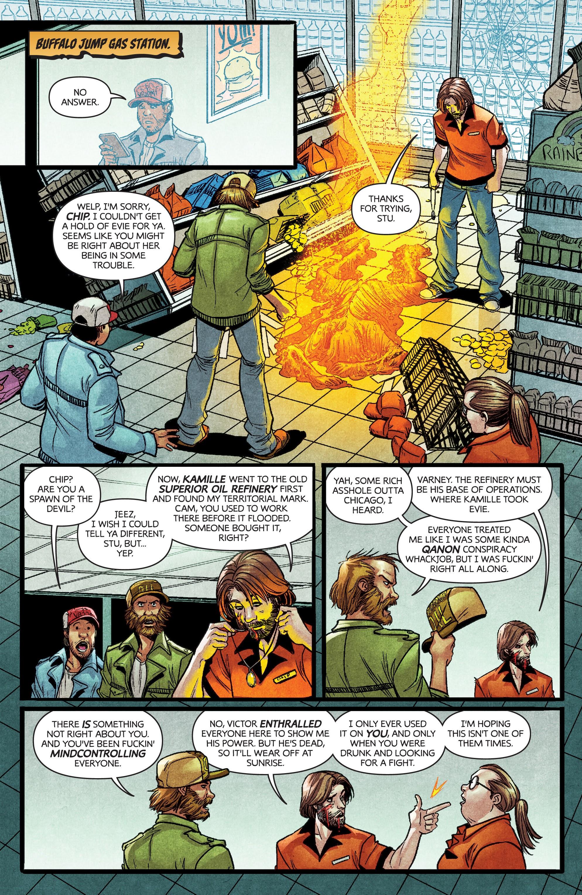 Read online Dark Red comic -  Issue #4 - 7