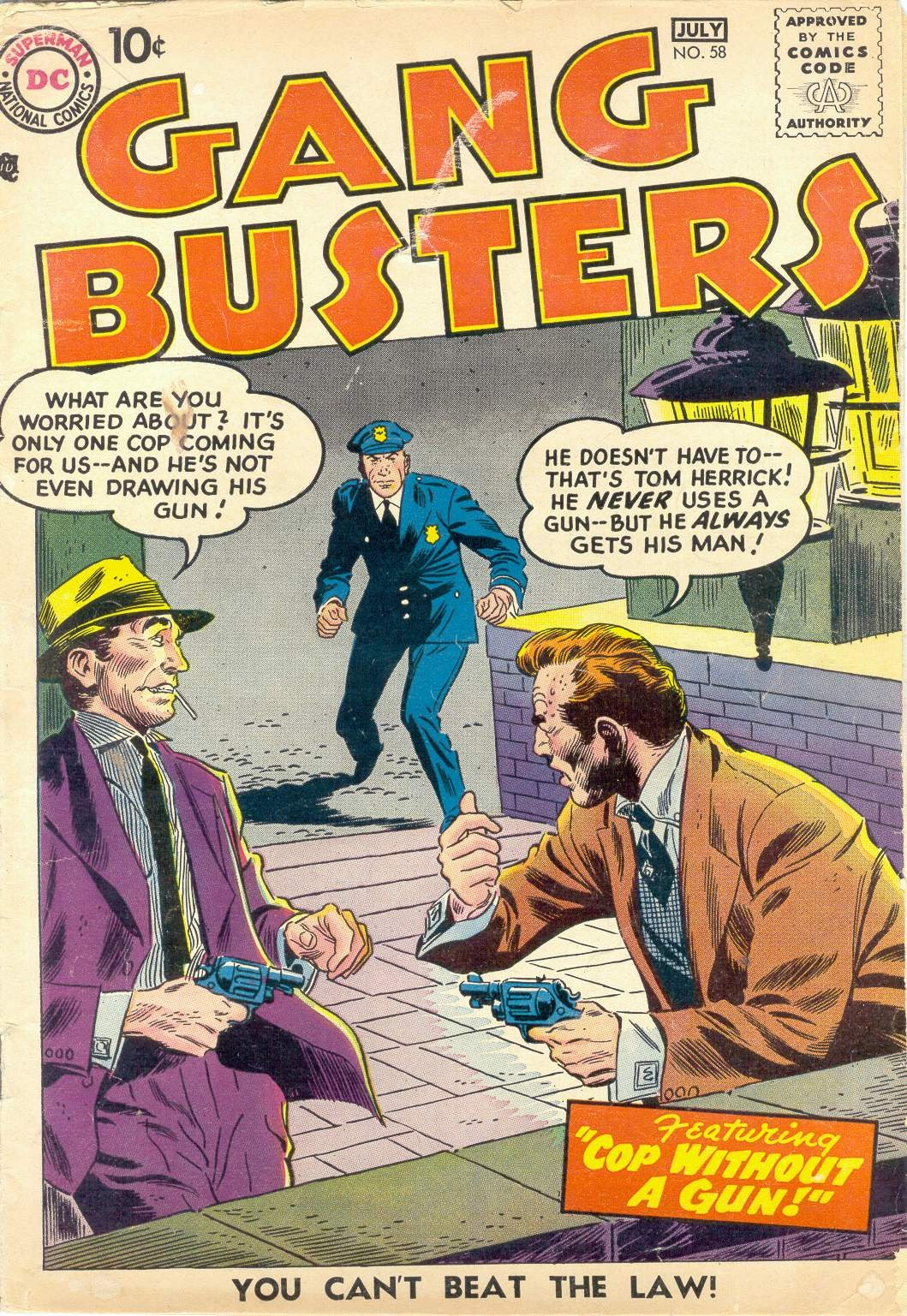 Gang Busters issue 58 - Page 1