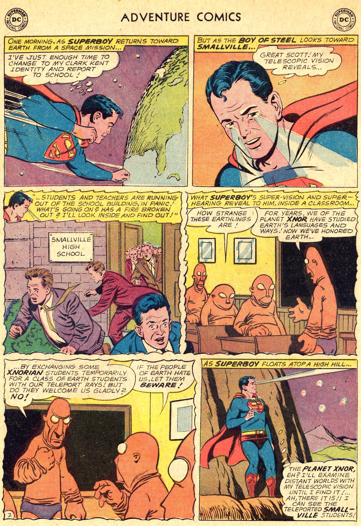 Read online Adventure Comics (1938) comic -  Issue #294 - 4