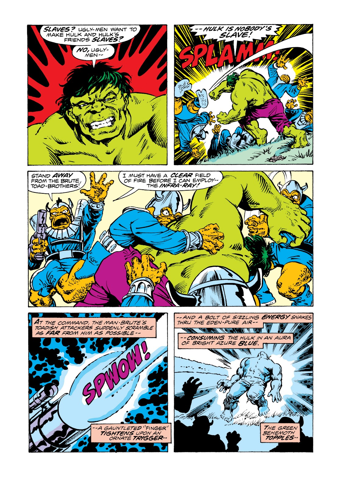 Read online Marvel Masterworks: The Incredible Hulk comic -  Issue # TPB 11 (Part 2) - 35