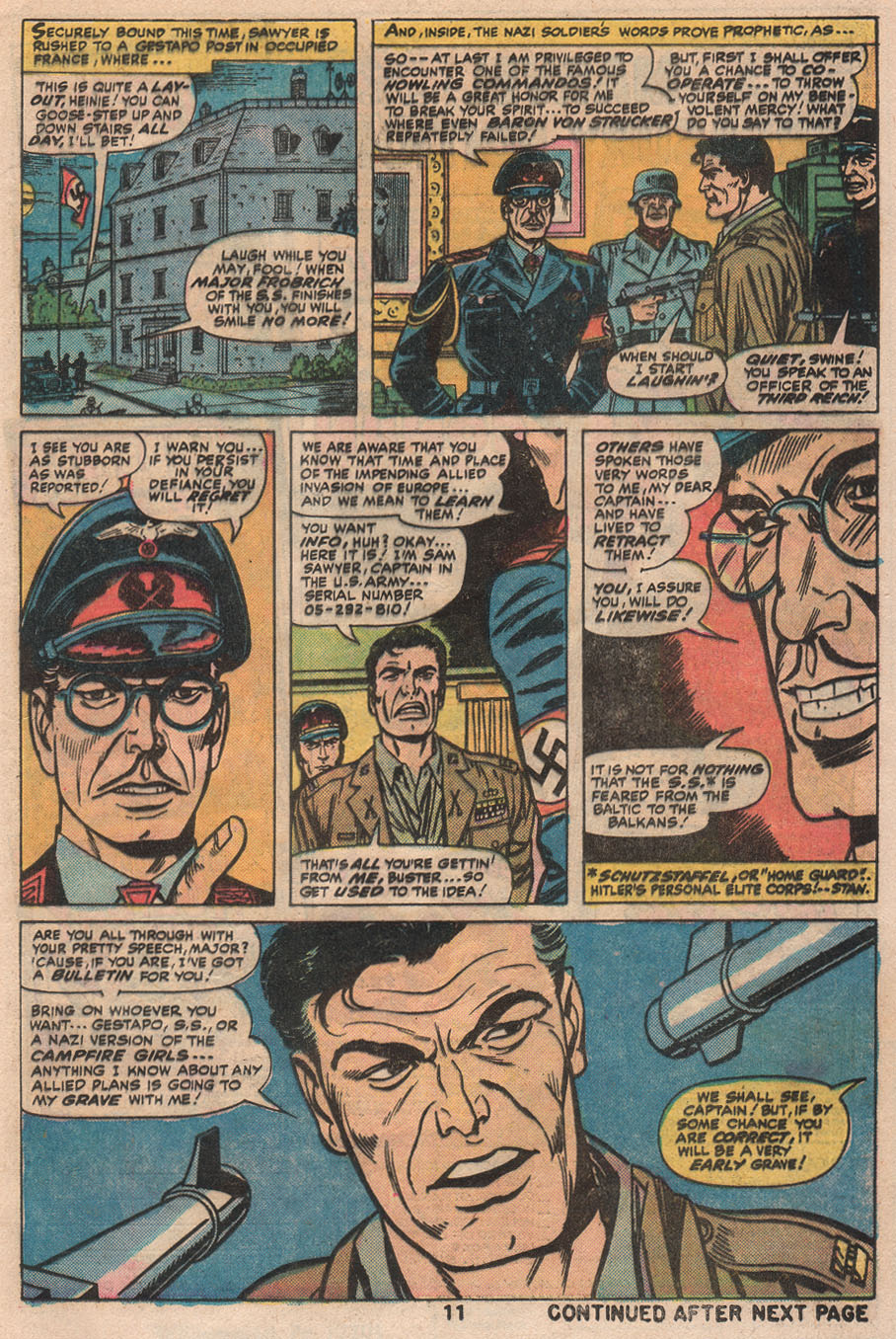 Read online Sgt. Fury comic -  Issue #133 - 13
