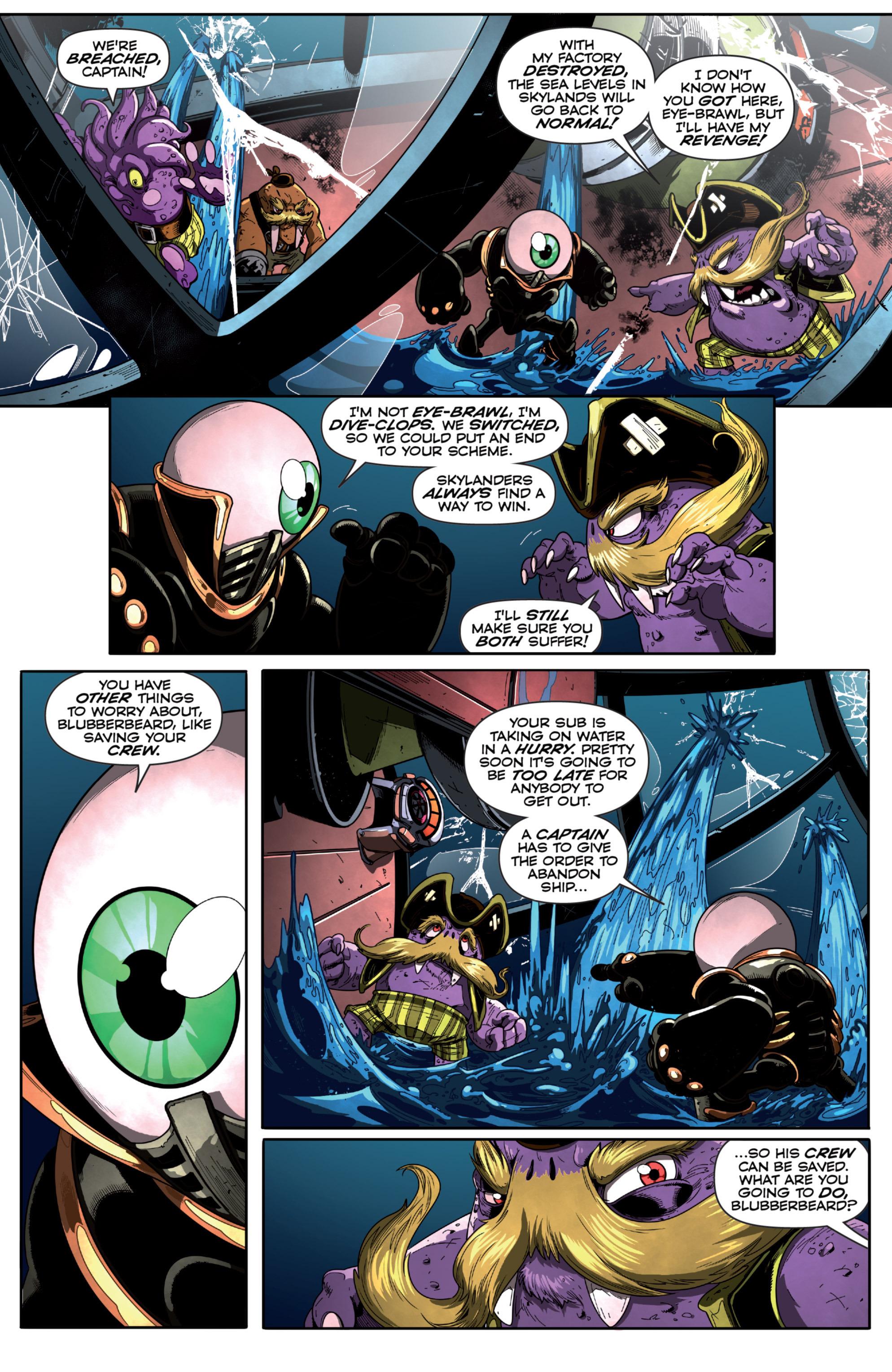 Read online Skylanders Superchargers comic -  Issue #6 - 15