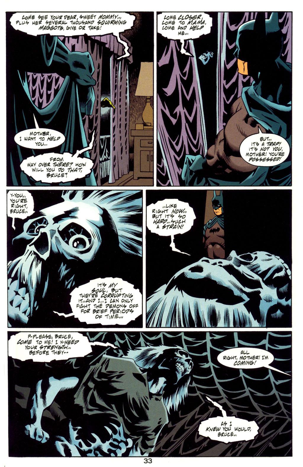 Read online Batman: Haunted Gotham comic -  Issue #4 - 33