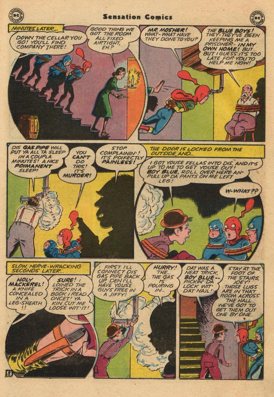 Read online Sensation (Mystery) Comics comic -  Issue #61 - 21