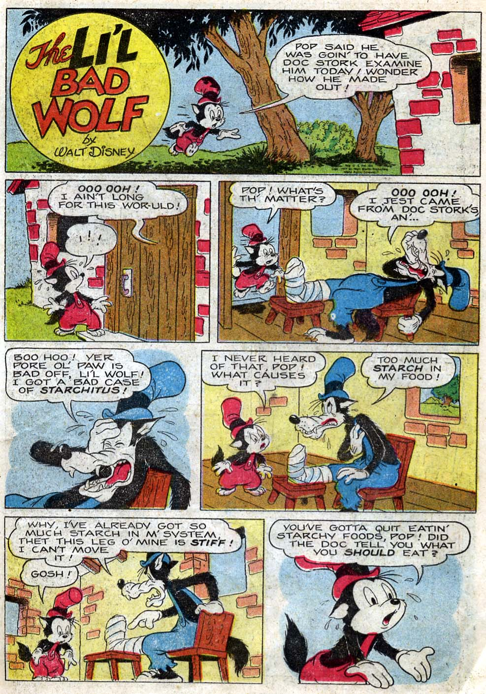 Walt Disney's Comics and Stories issue 87 - Page 21