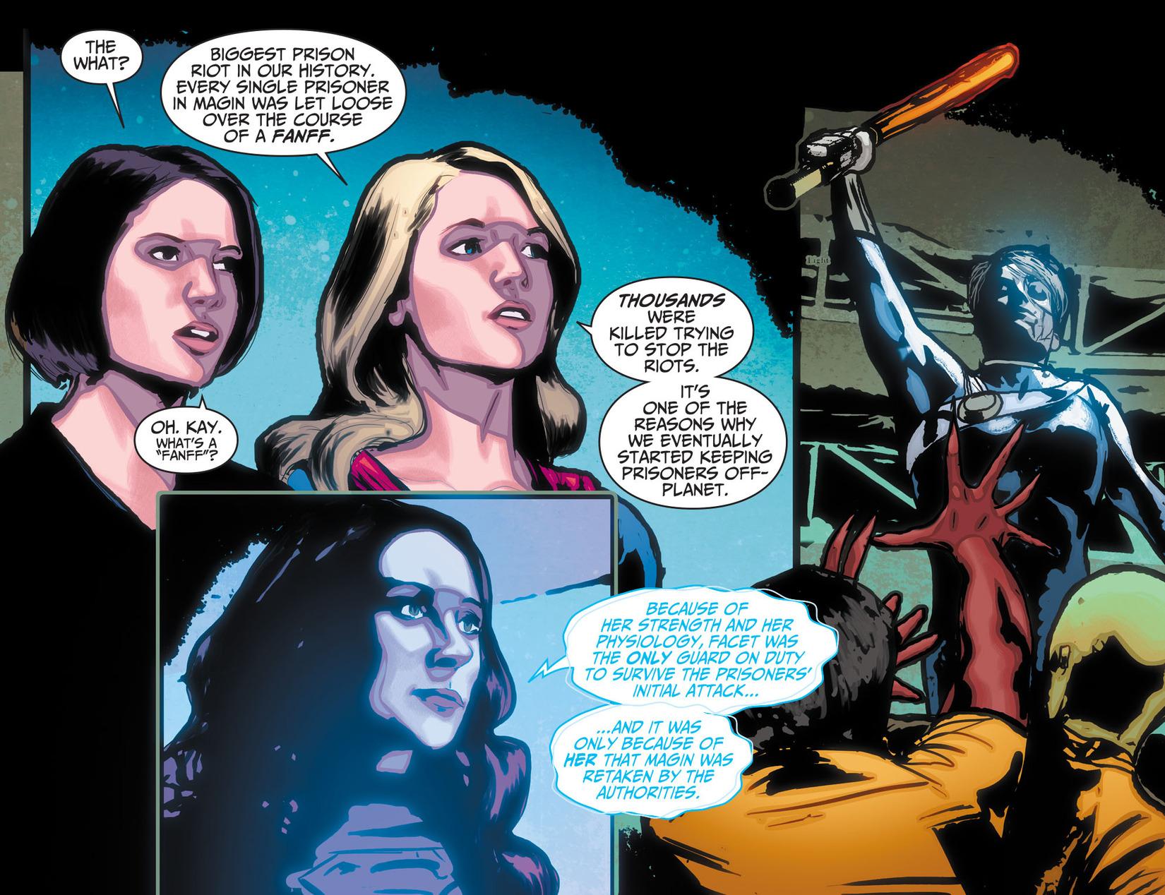 Read online Adventures of Supergirl comic -  Issue #10 - 12