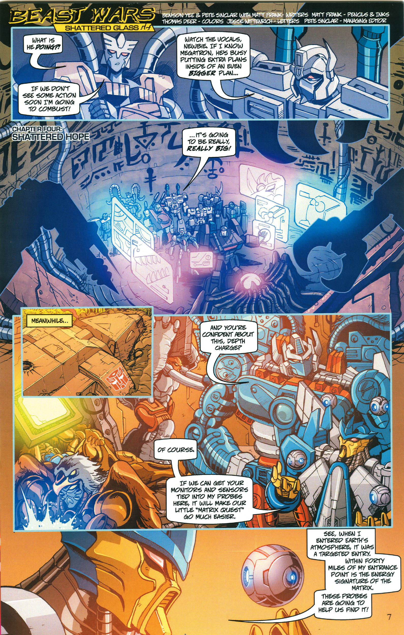 Read online Transformers: Collectors' Club comic -  Issue #52 - 7