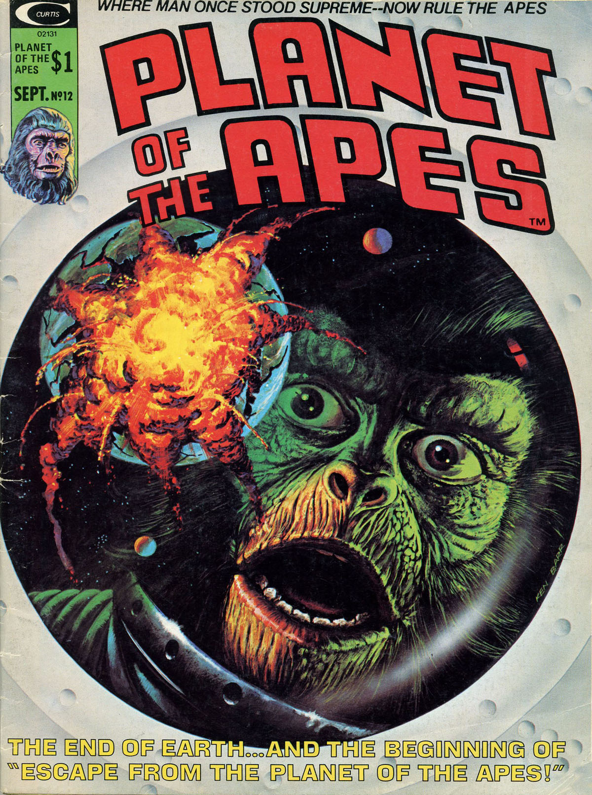 Planet of the Apes (1974) 12 Page 1