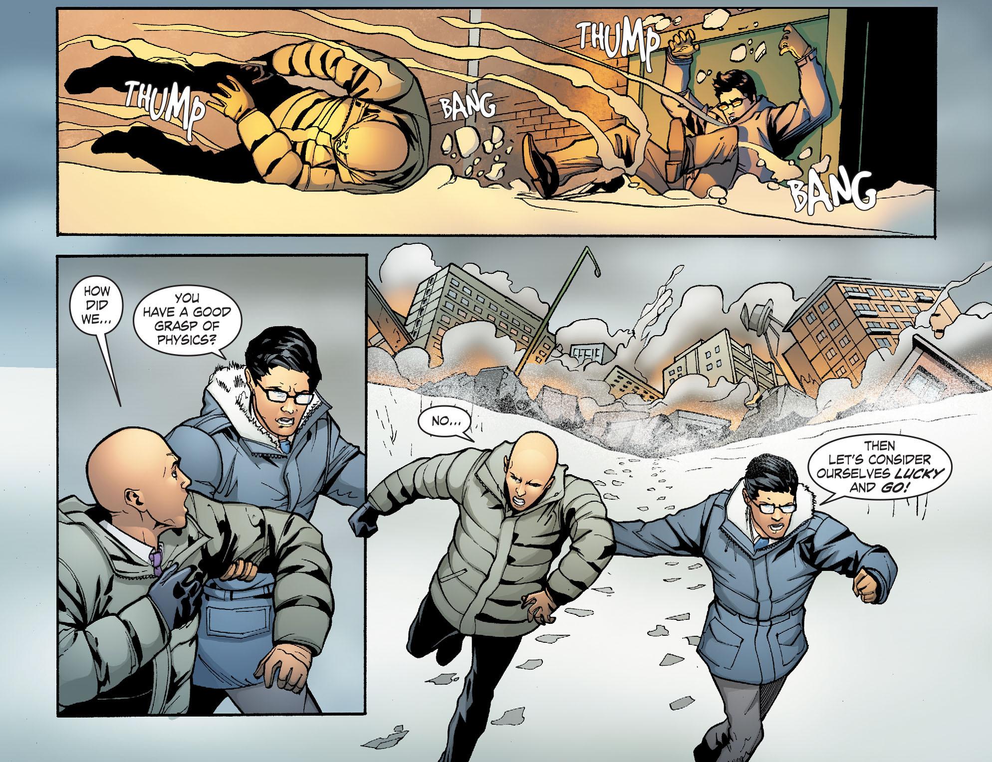 Read online Smallville: Alien comic -  Issue #9 - 18