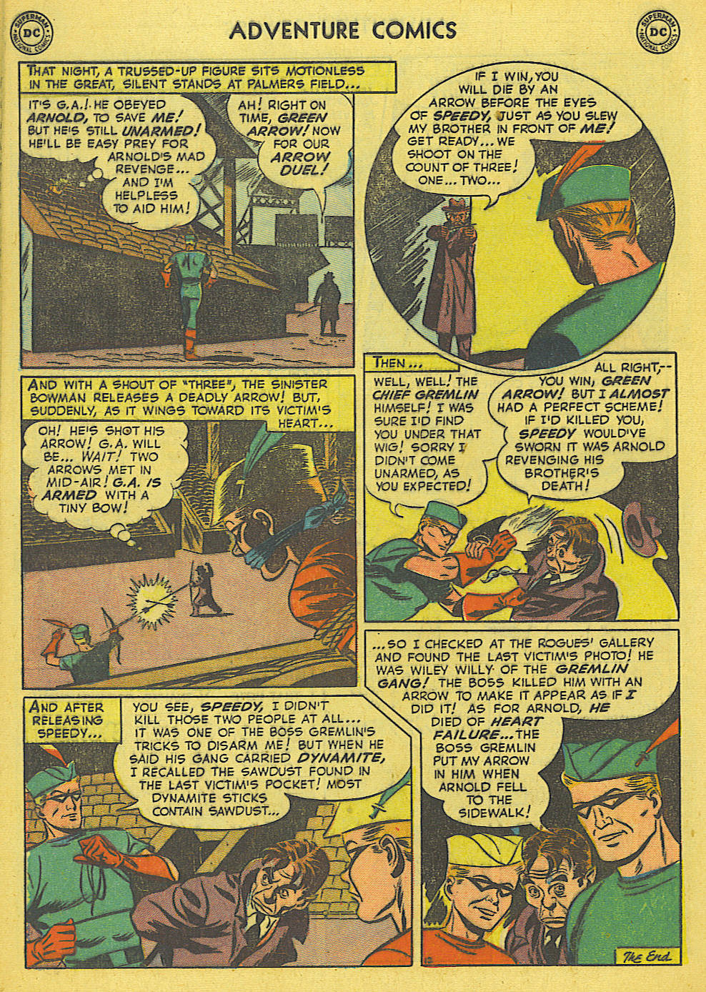 Read online Adventure Comics (1938) comic -  Issue #165 - 38