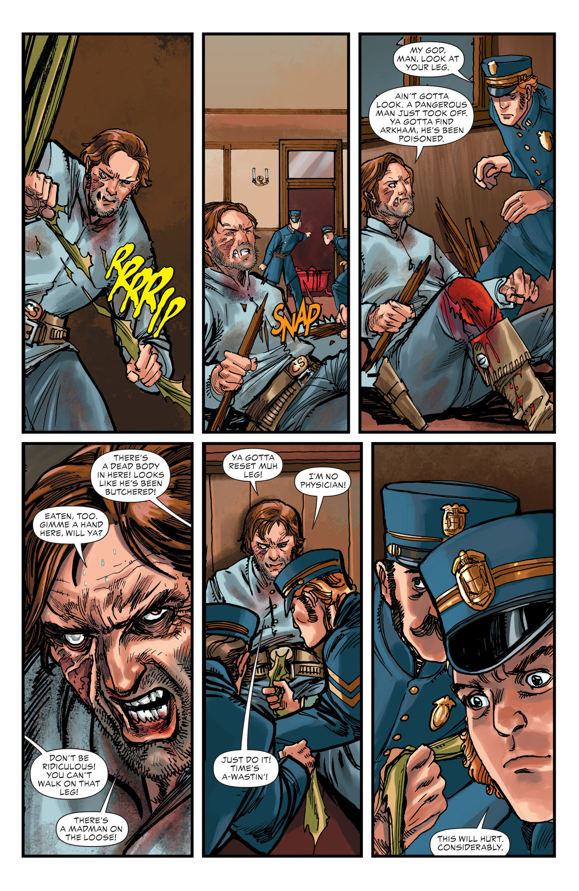 Read online All-Star Western (2011) comic -  Issue #15 - 15