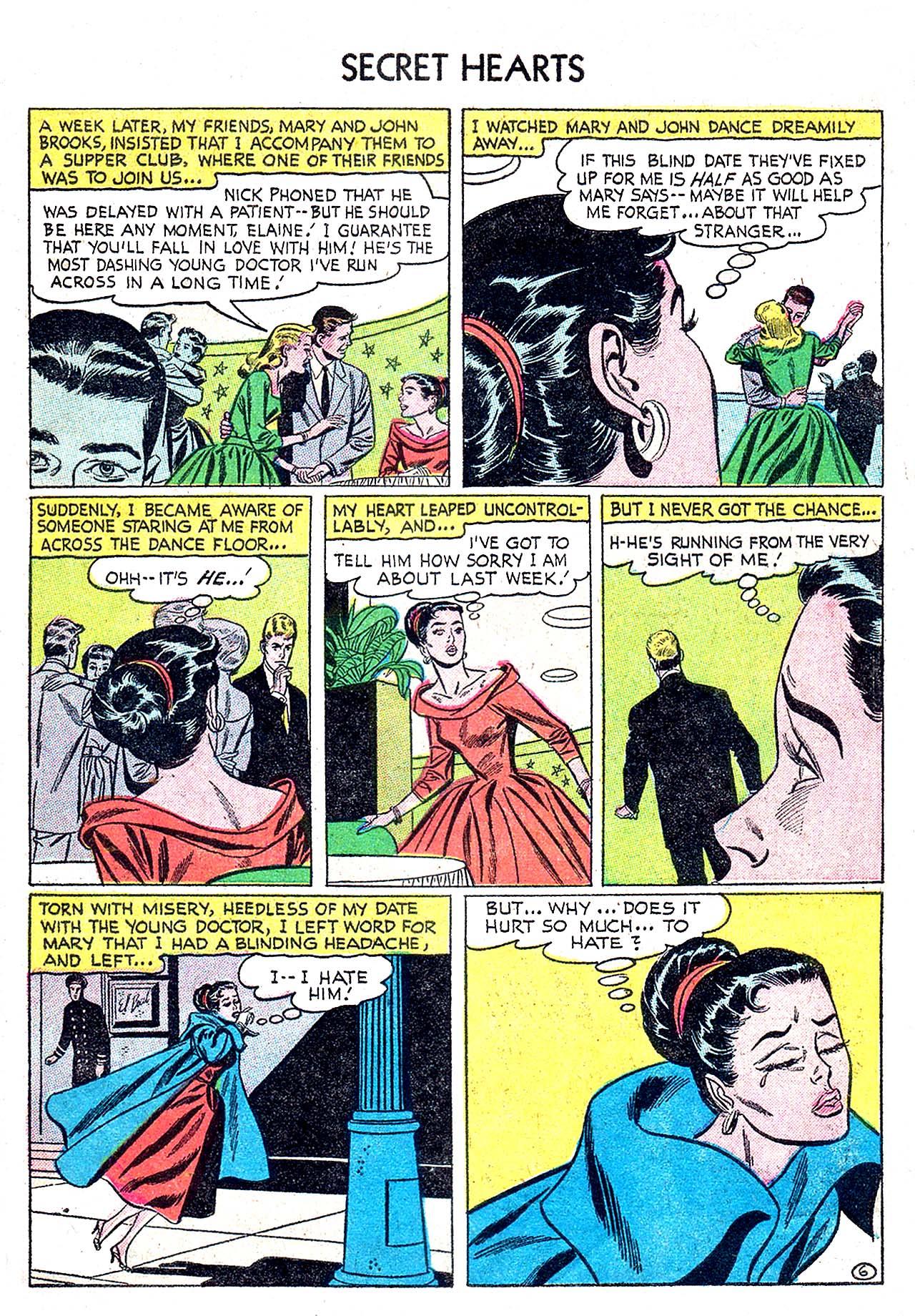 Read online Secret Hearts comic -  Issue #32 - 31