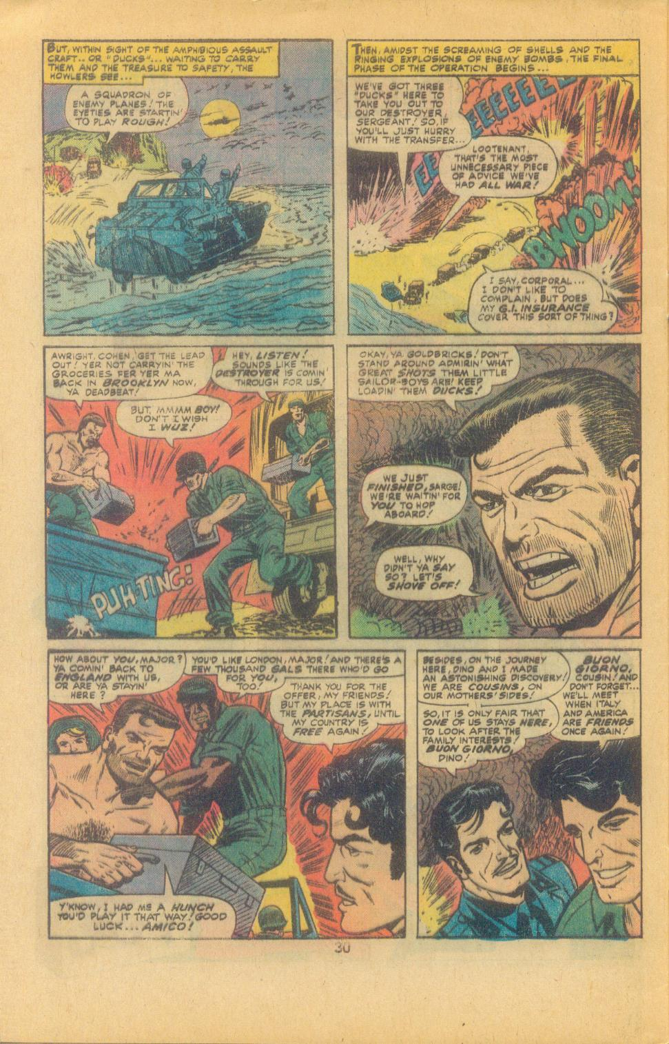 Read online Sgt. Fury comic -  Issue #132 - 32