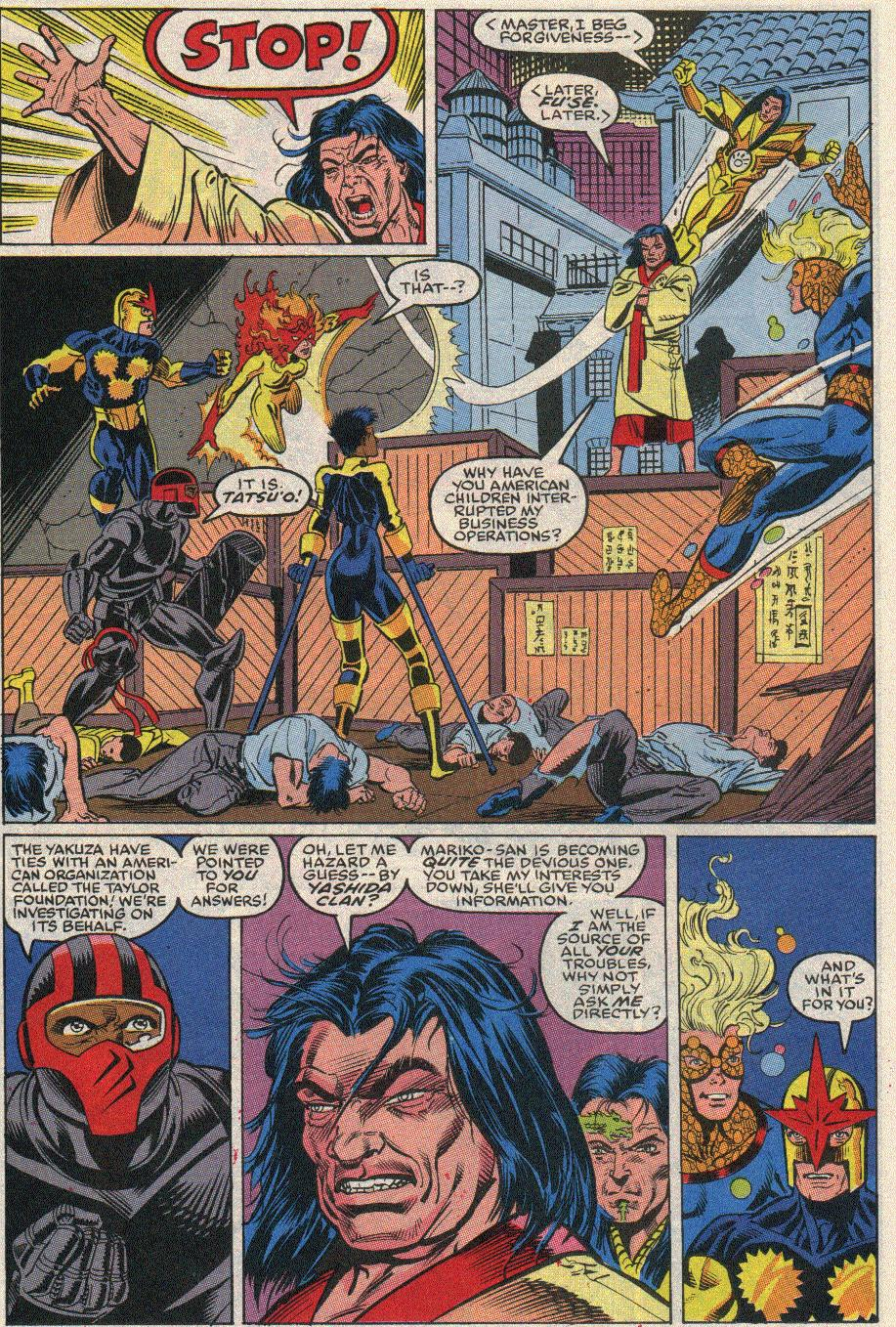 The New Warriors Issue #20 #24 - English 17